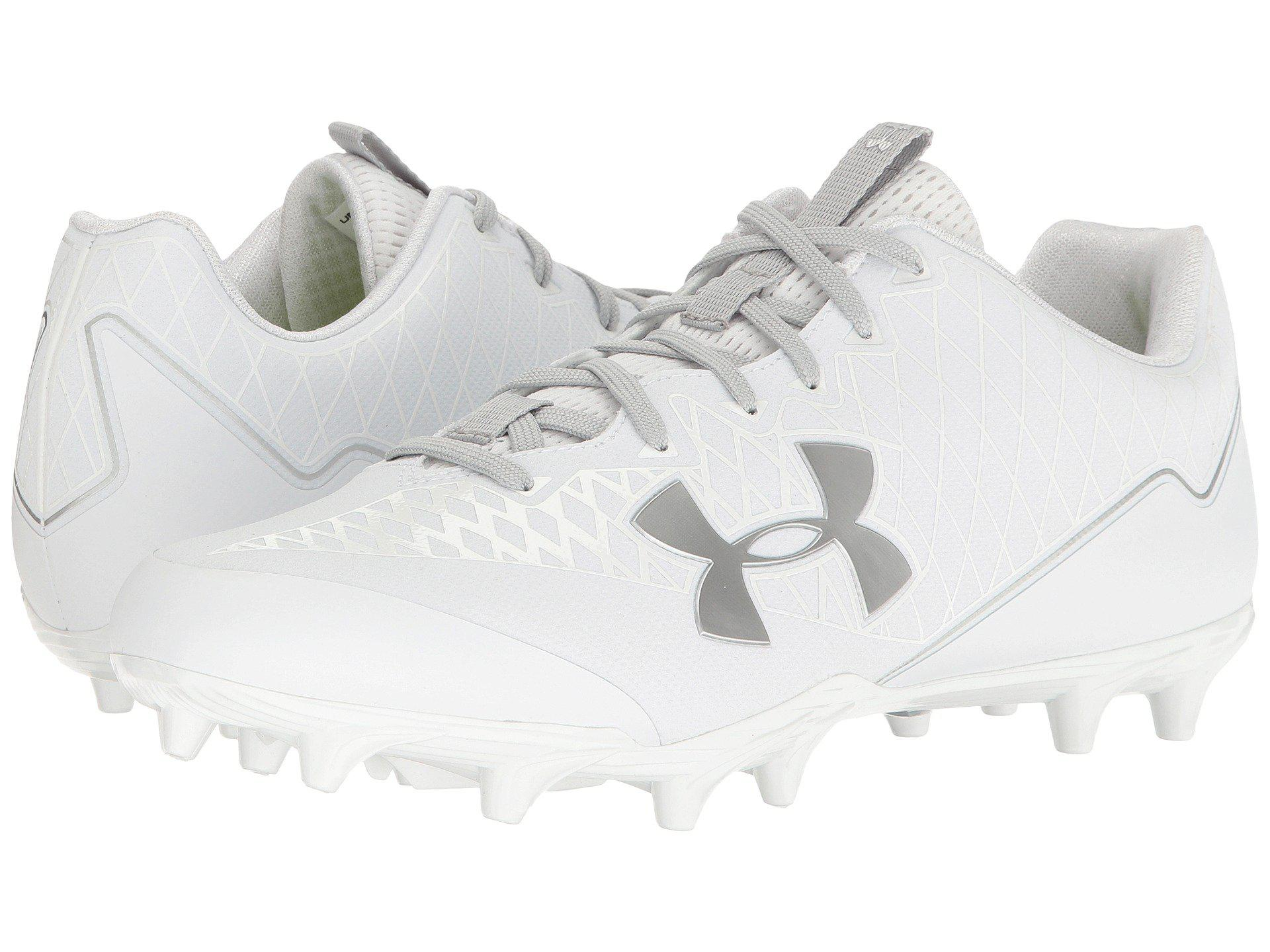 wholesale dealer f0459 e862f Lyst - Under Armour Ua Nitro Select Low Mc in Metallic for Men