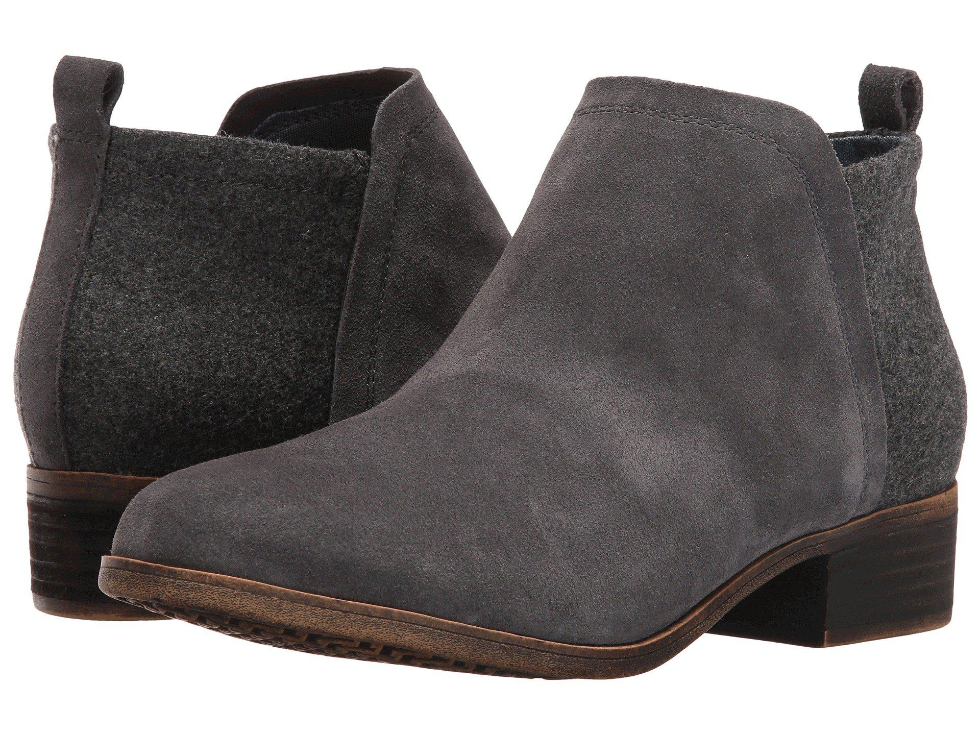 Lyst Toms Deia Fashion Boot In Gray