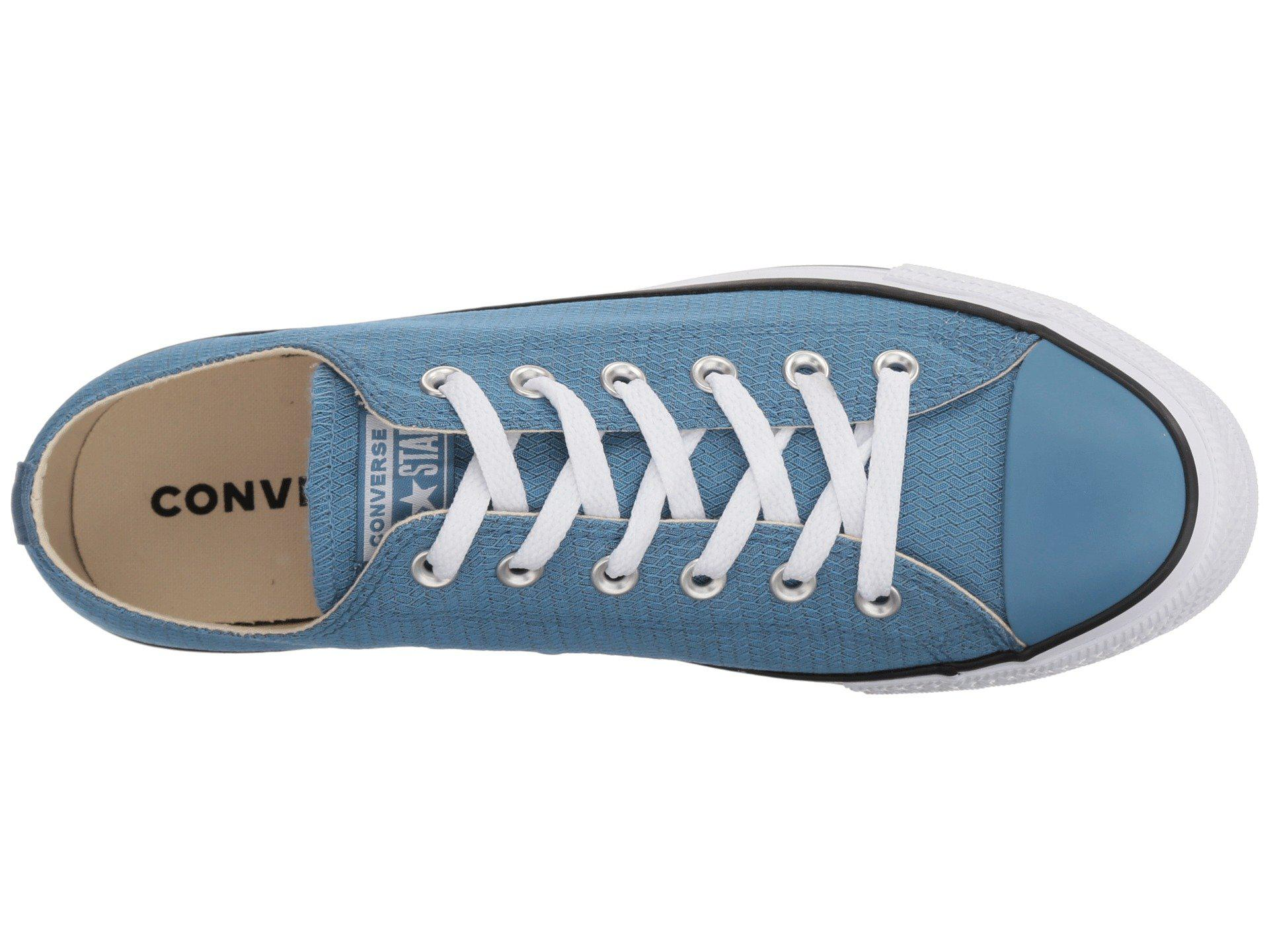 0946fe4c78af Converse - Blue Chuck Taylor® All Star® Ox - Court Ripstop - Lyst. View  fullscreen