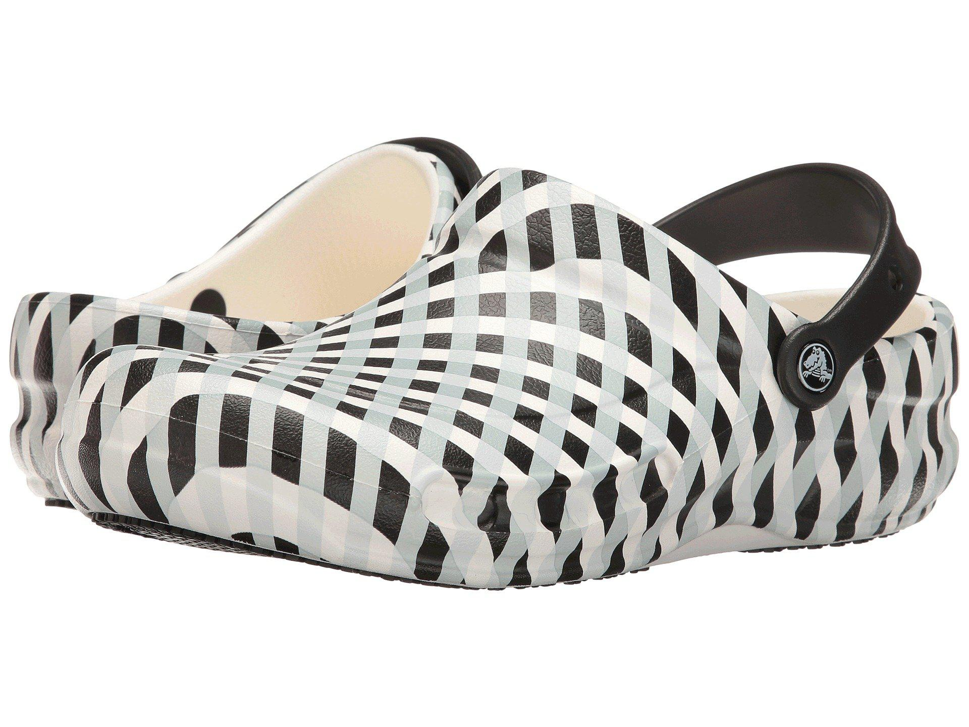 c800ac9b6 Lyst - Crocs™ Bistro Gingham in White