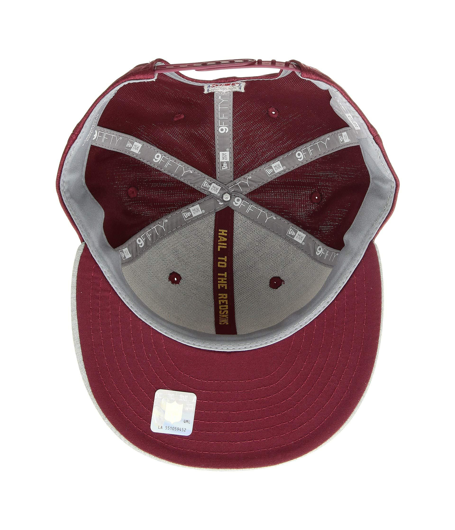 5bc1bfc215218d Lyst - Ktz 9fifty Official Sideline Away Snapback - Washington Redskins in  Red for Men