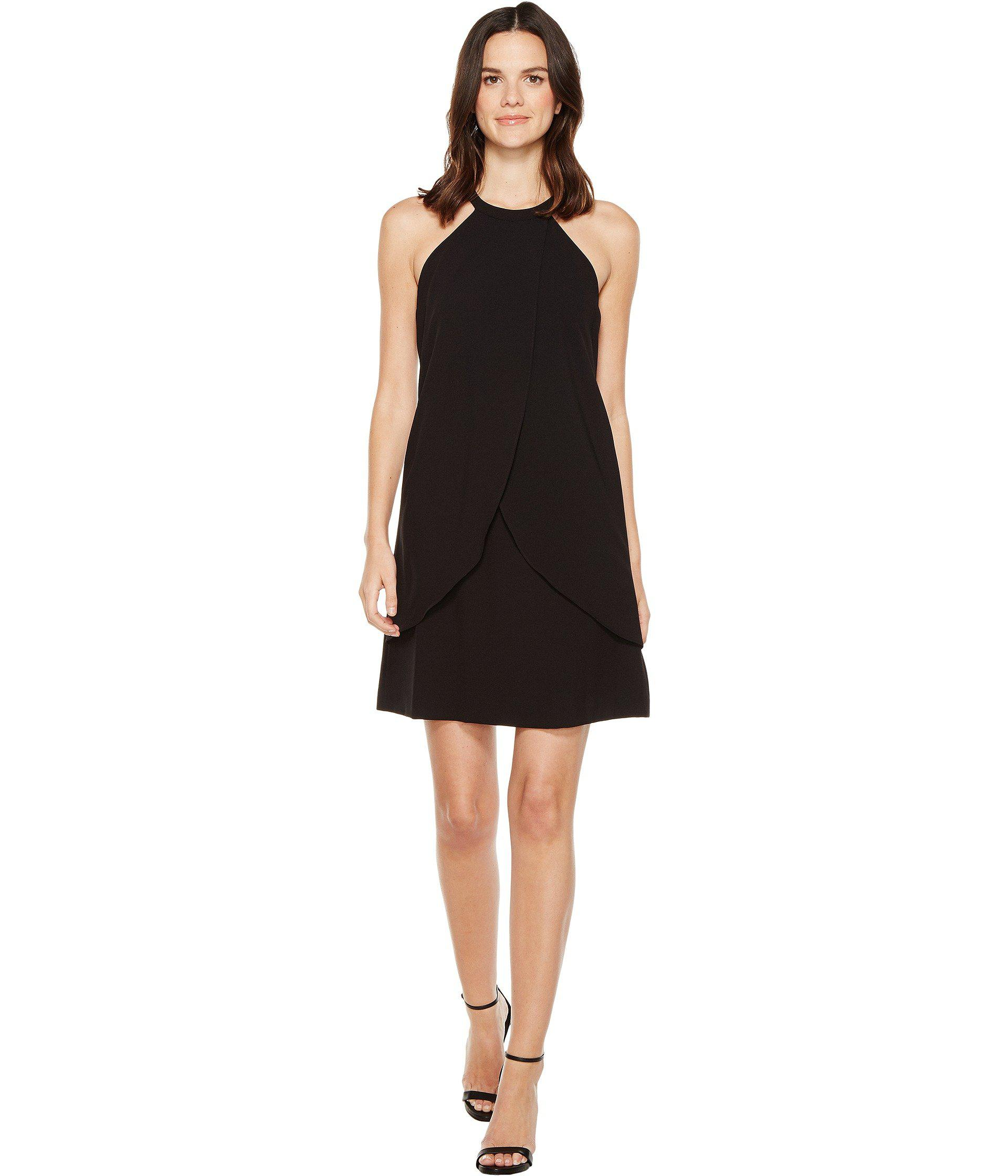bcd6dd29f1025 Lyst - Tahari Tulip Shift Dress in Black