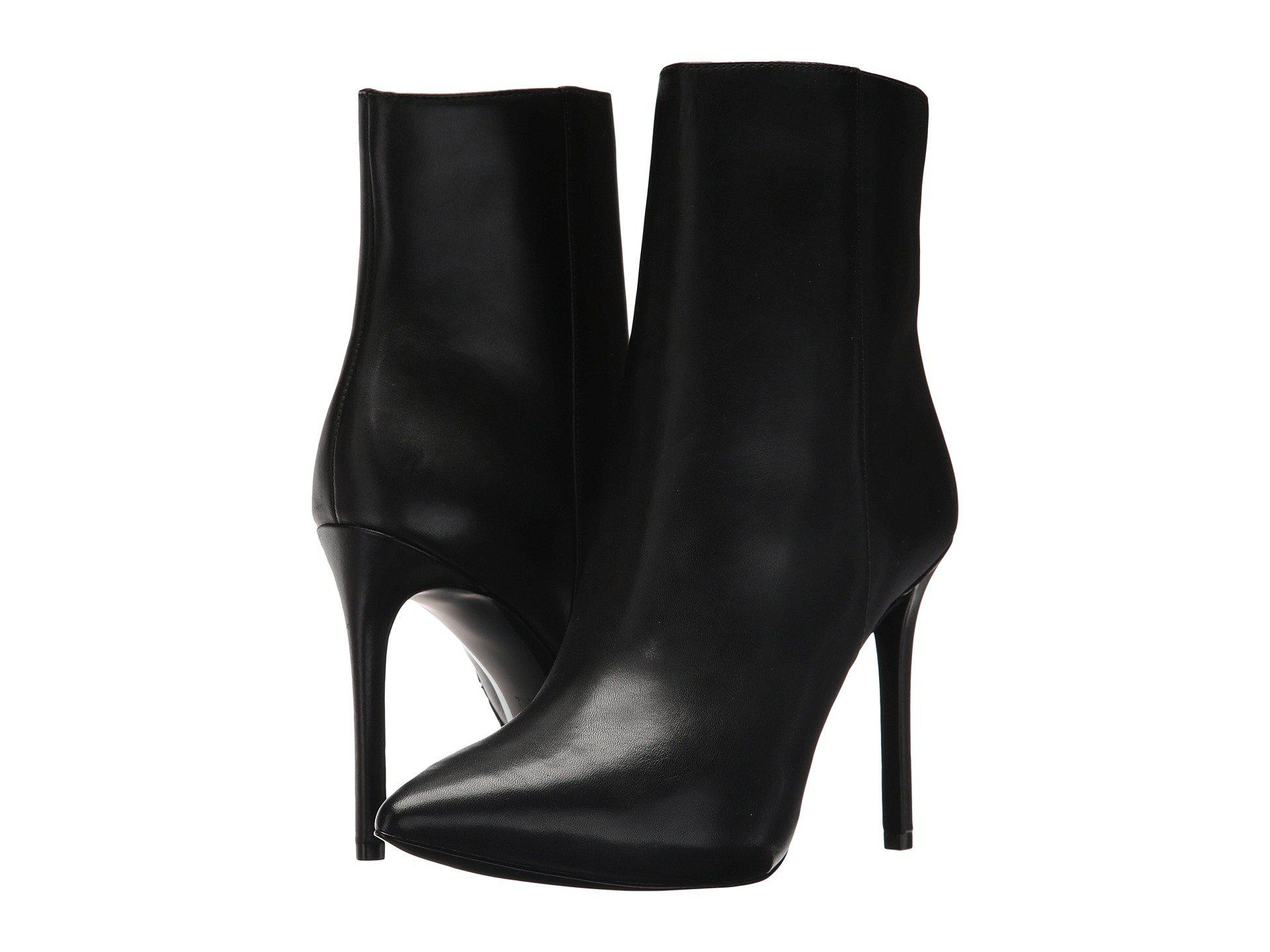 MICHAEL 14vxUi7vF0 BLAZE OPEN TOE BOOTIE - High heeled ankle boots - black qCyhx2