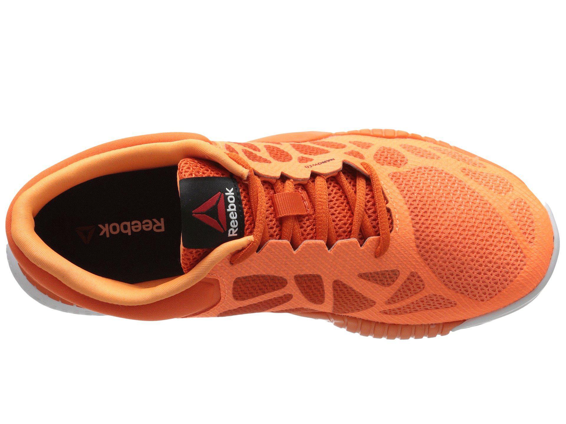 huge discount 092bd f772b Lyst - Reebok Zprint Training Shoe in Orange