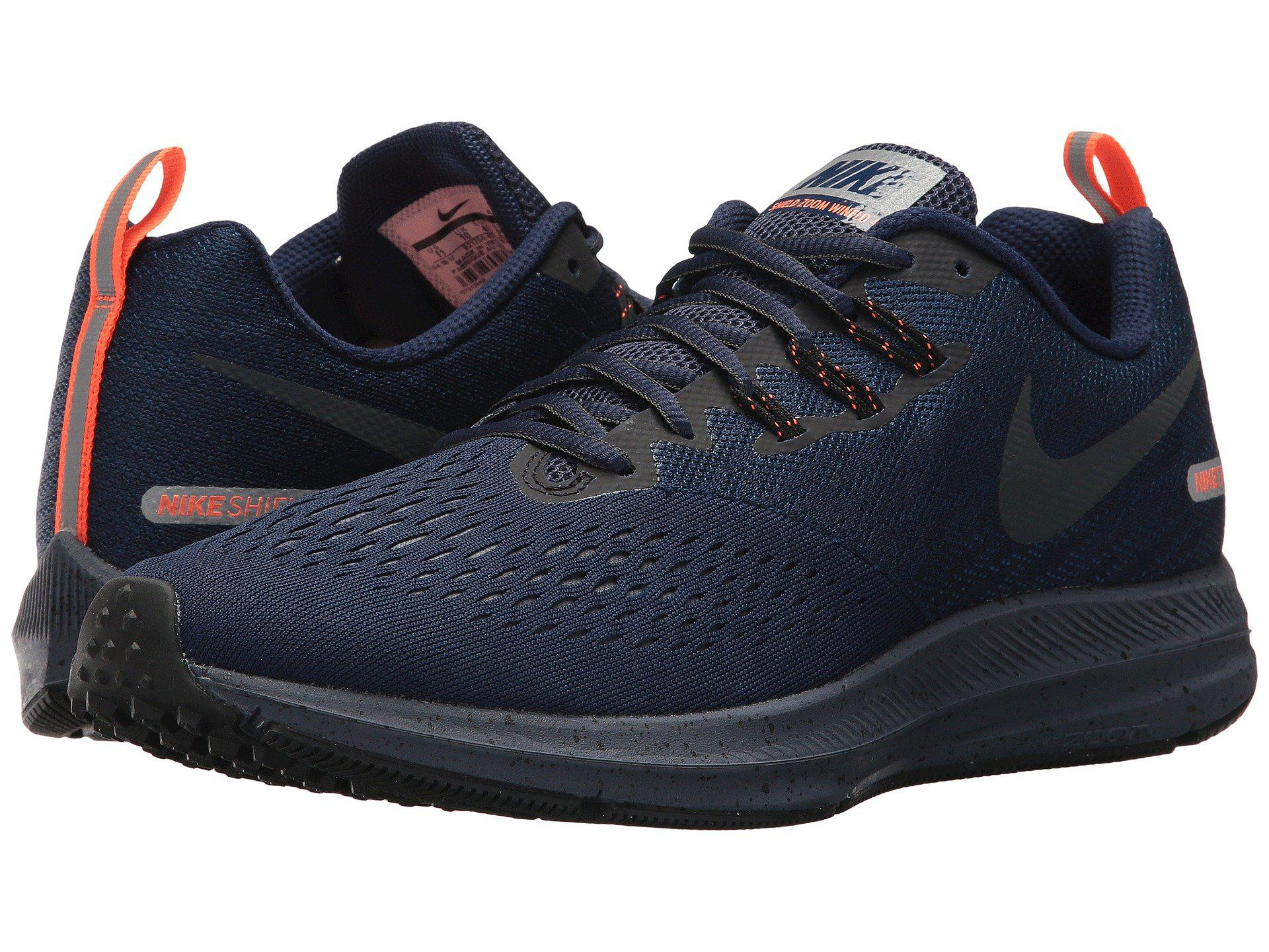 huge selection of a5af2 73349 Nike Air Zoom Winflo 4 Shield in Blue for Men - Lyst