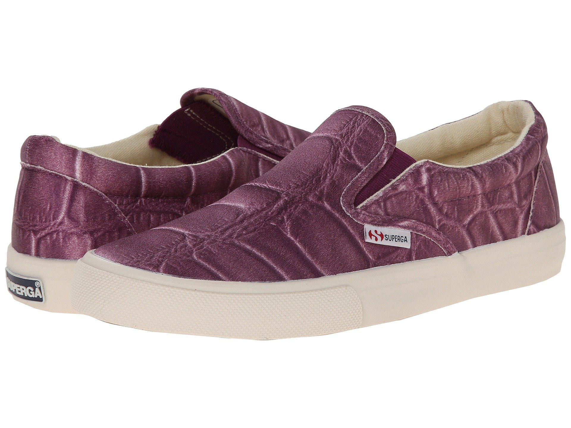 Womens Shoes Superga 2311 Fabricsilkcoccow Plum