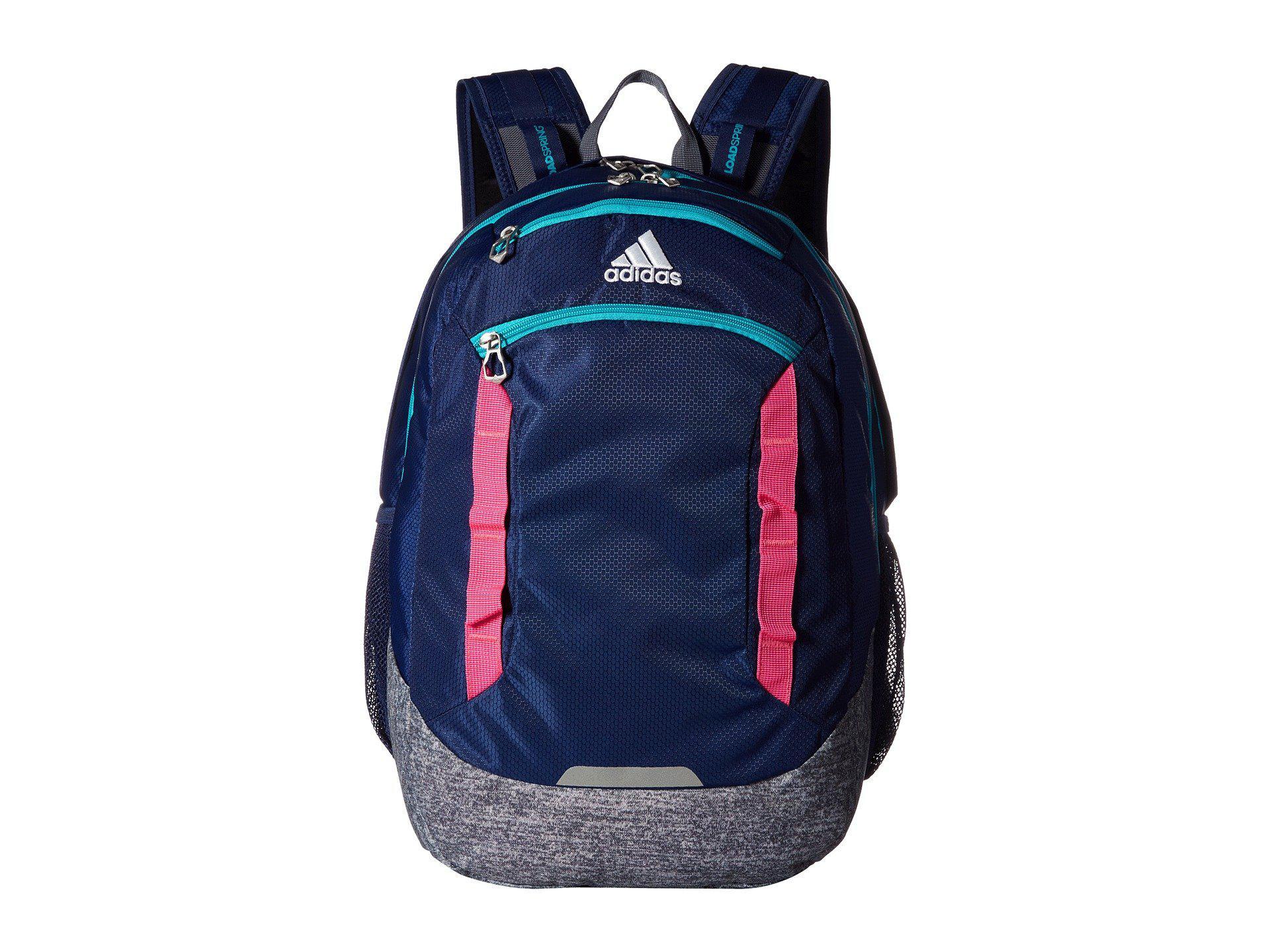 Adidas - Blue Excel Iv Backpack - Lyst. View fullscreen 470fb9177dc14
