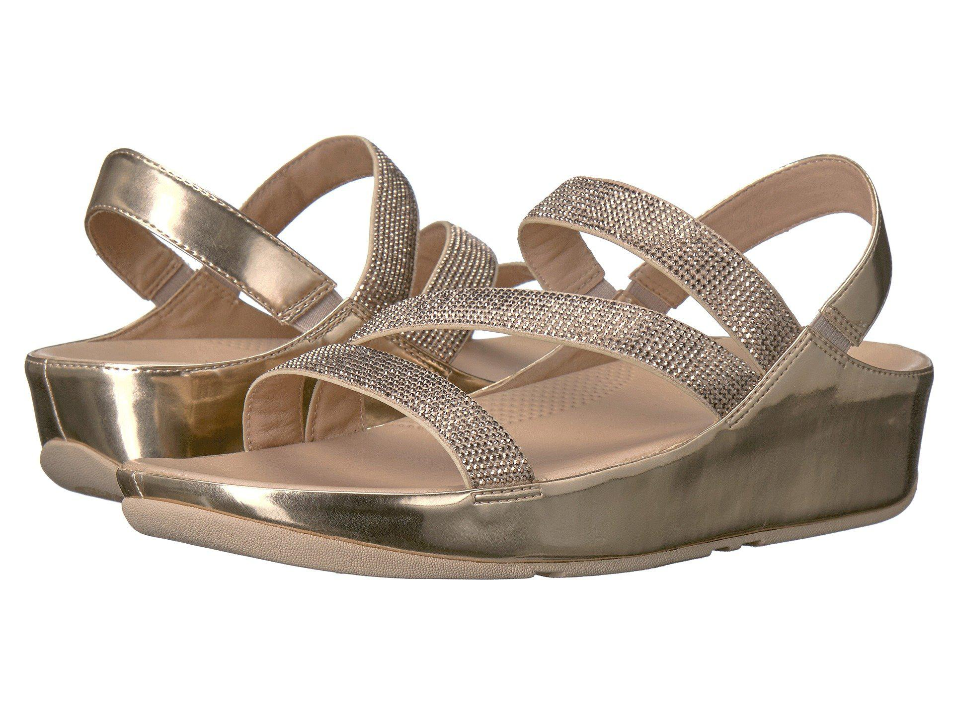198e5d1db50c62 Lyst - Fitflop Crystall Z-strap Sandal