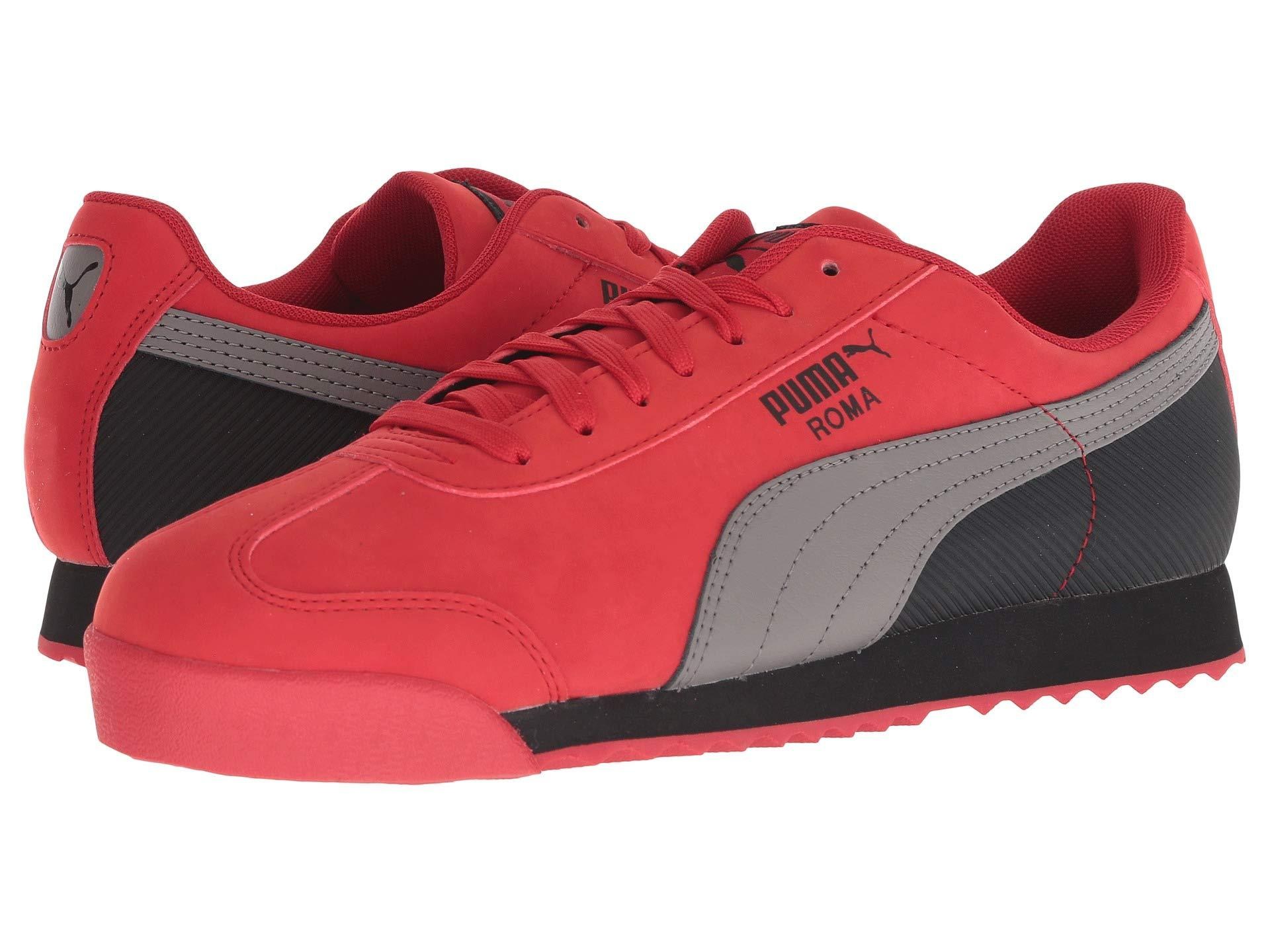 4241957fda6e70 Lyst - PUMA Roma Retro Nbk in Red for Men - Save 5%