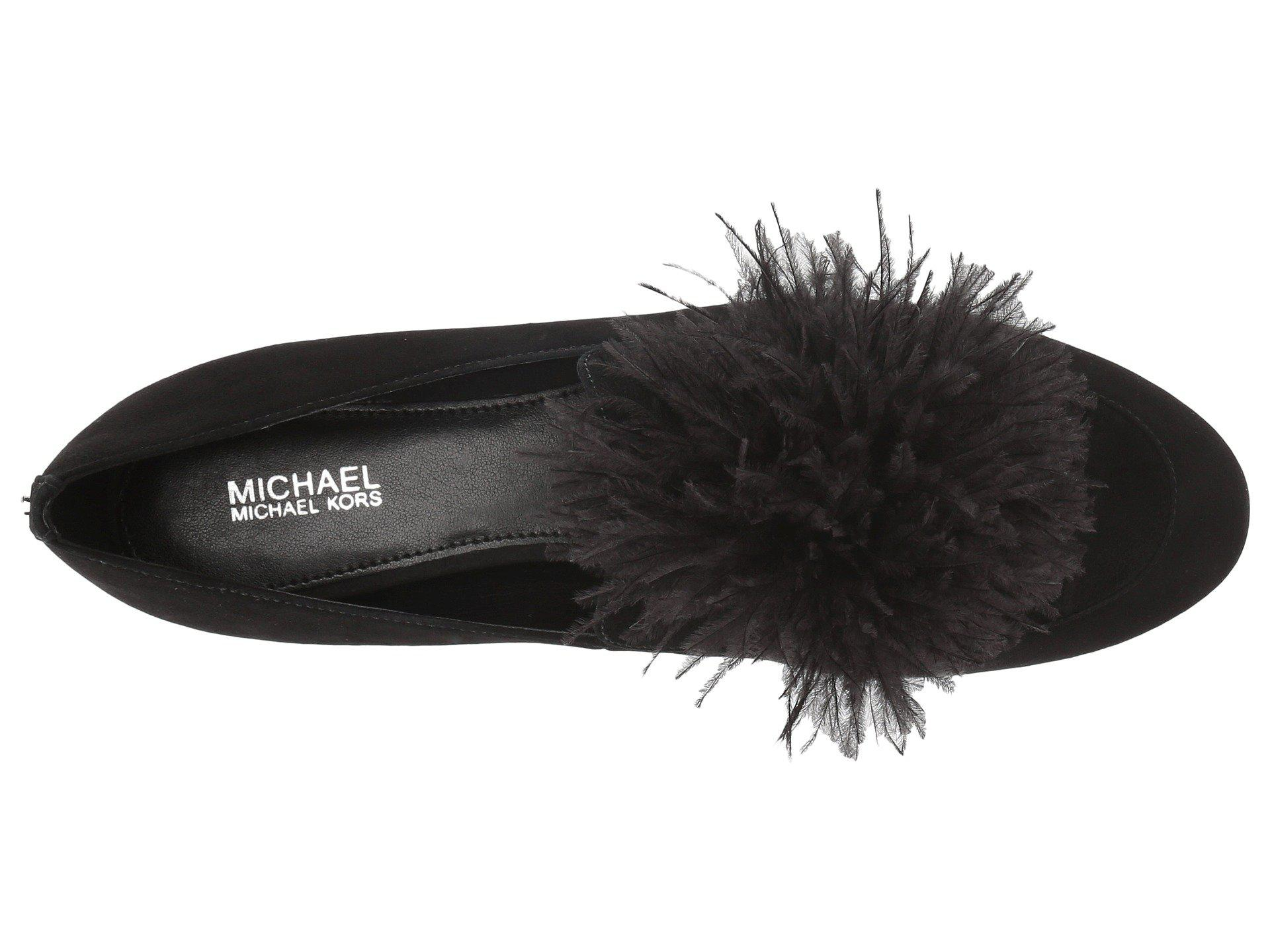 36d5f22b2fe Lyst - MICHAEL Michael Kors Fara Loafer in Black