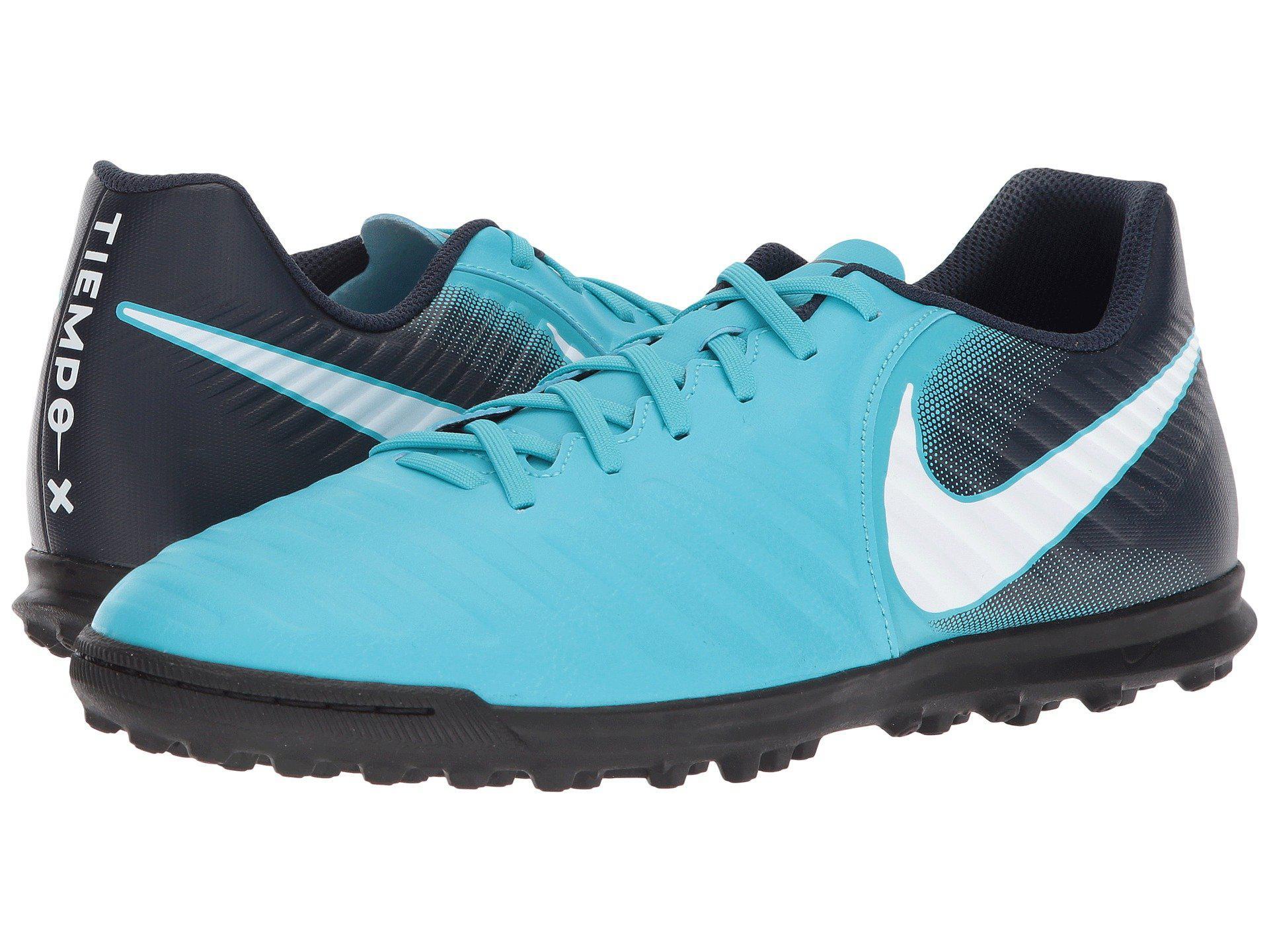 00777faf7ebd Lyst - Nike Tiempox Rio Iv Tf in Blue for Men
