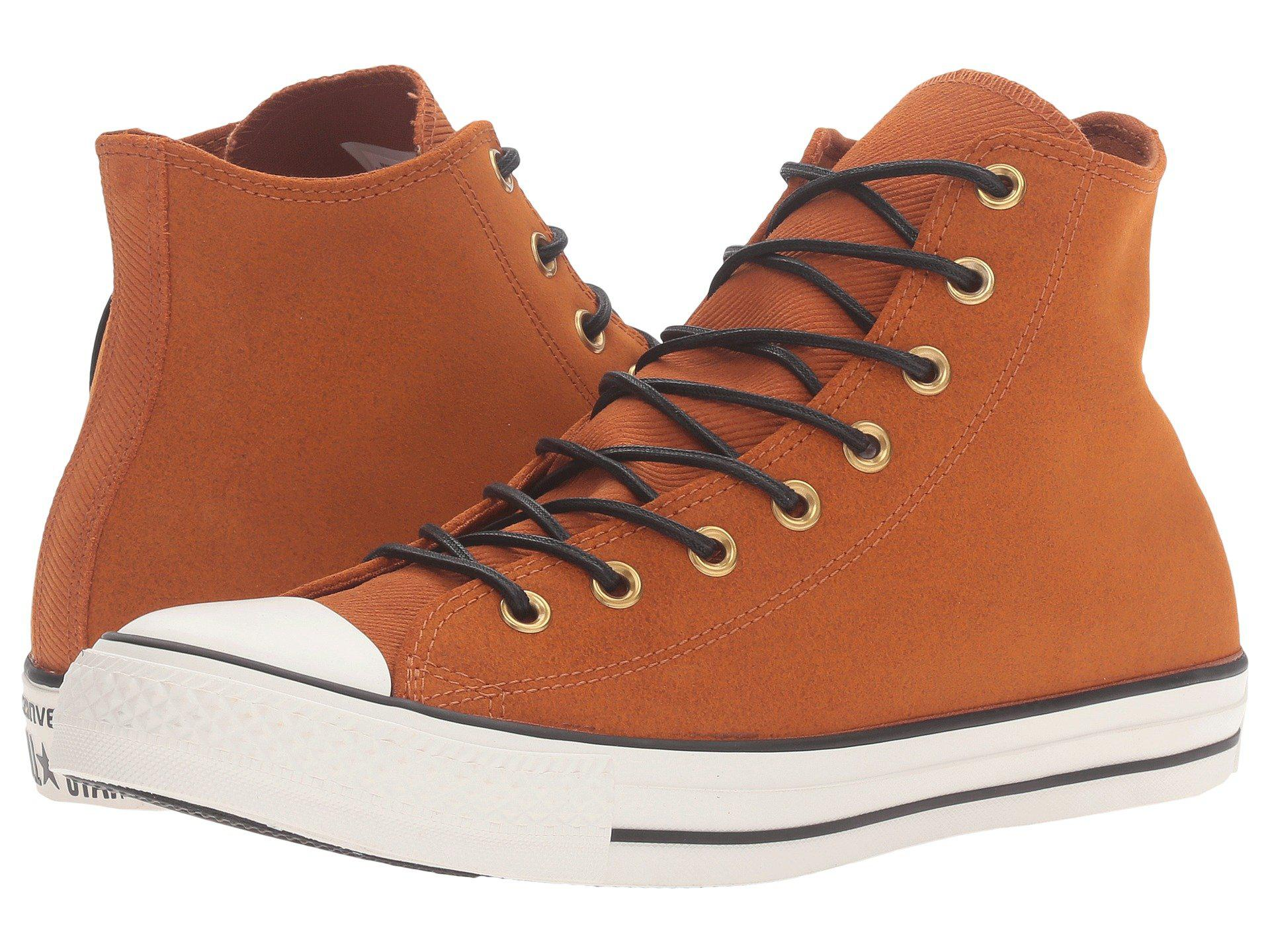 921e8463f7d675 Lyst - Converse Chuck Taylor® All Star® Leather corduroy Hi for Men