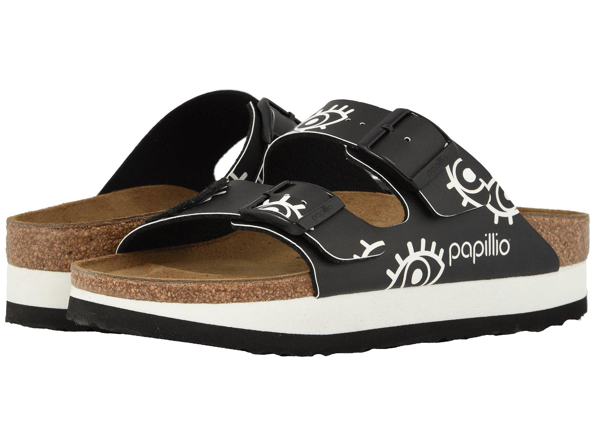 35782fb3ae45 Lyst - Birkenstock Arizona Platform in Black - Save 25%