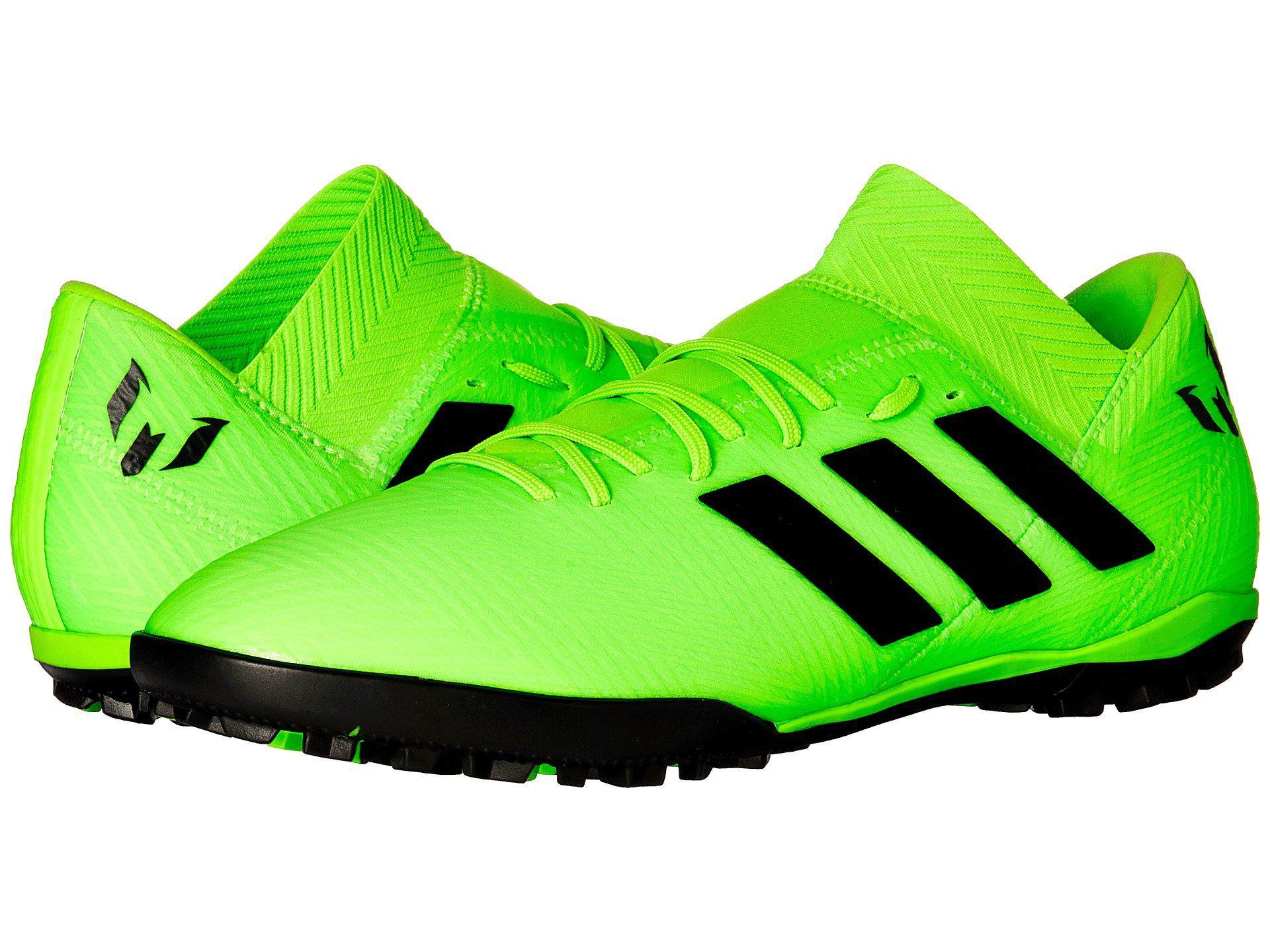 8a19e034965 Adidas - Green Nemeziz Messi Tango 18.3 Tf for Men - Lyst. View fullscreen