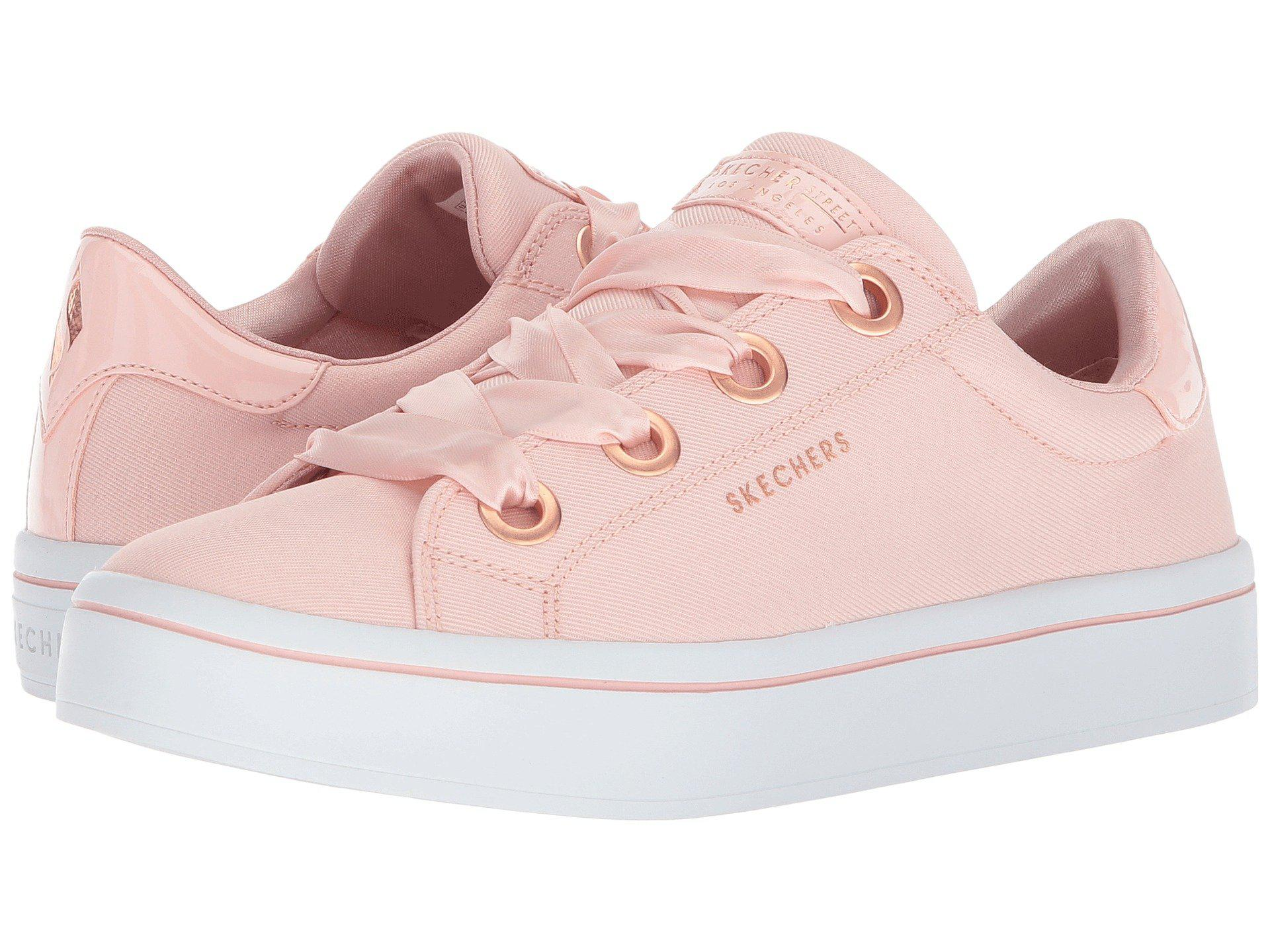 8bba7a4406bf Lyst - Skechers Hi-lite - Satin Stoppers in Pink - Save 35%