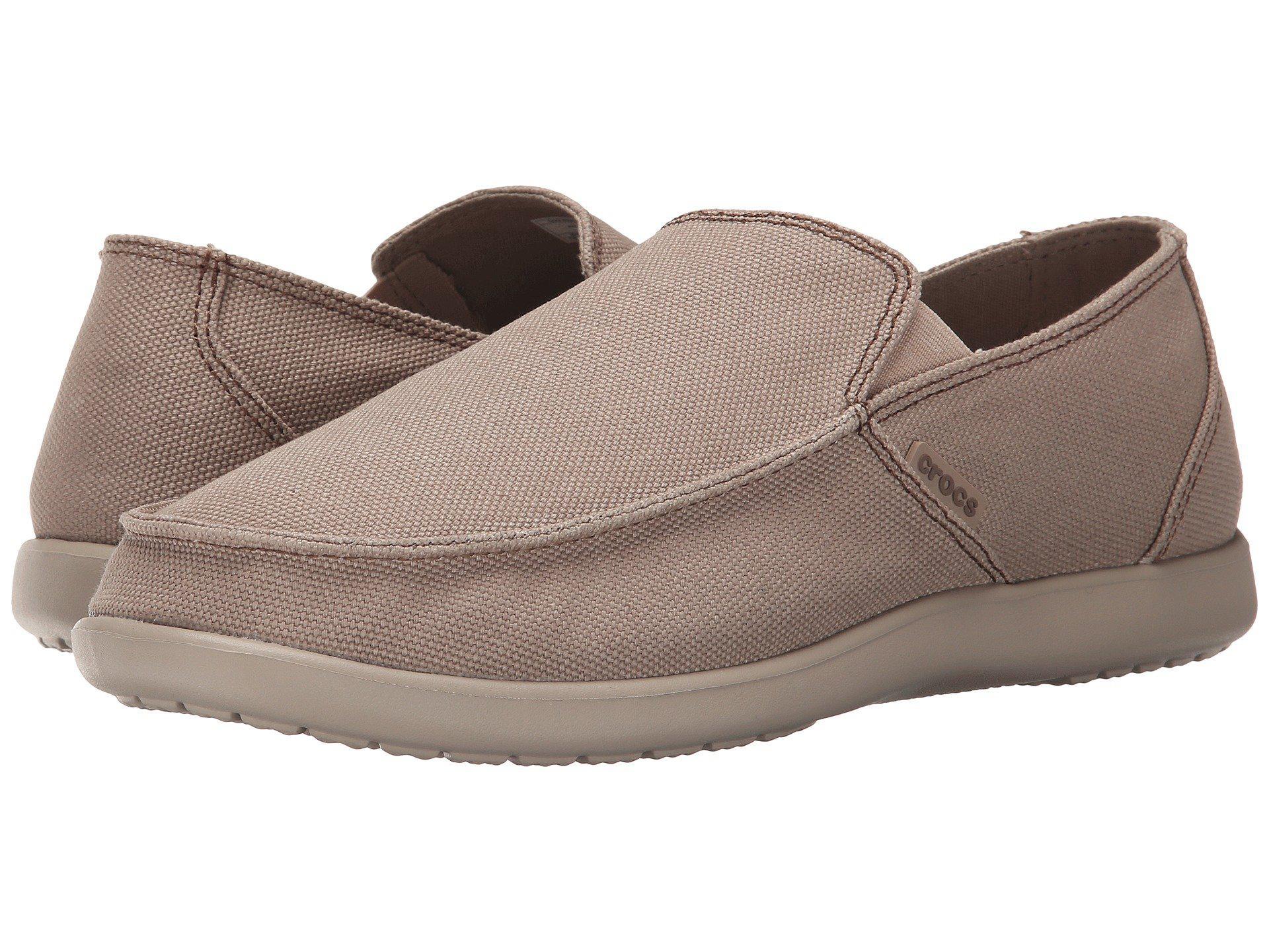 0d3814792b4 Lyst - Crocs™ Santa Cruz Clean Cut Loafer in Natural for Men