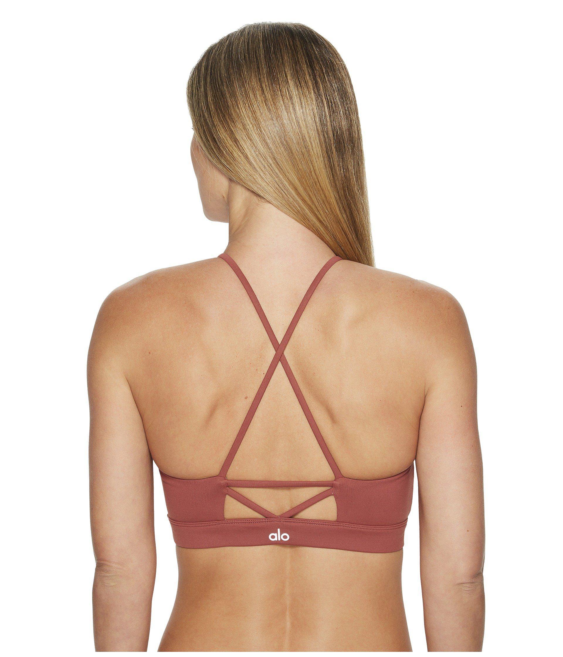 e78b8902c4d8e Lyst - Alo Yoga Starlet Lace Bra