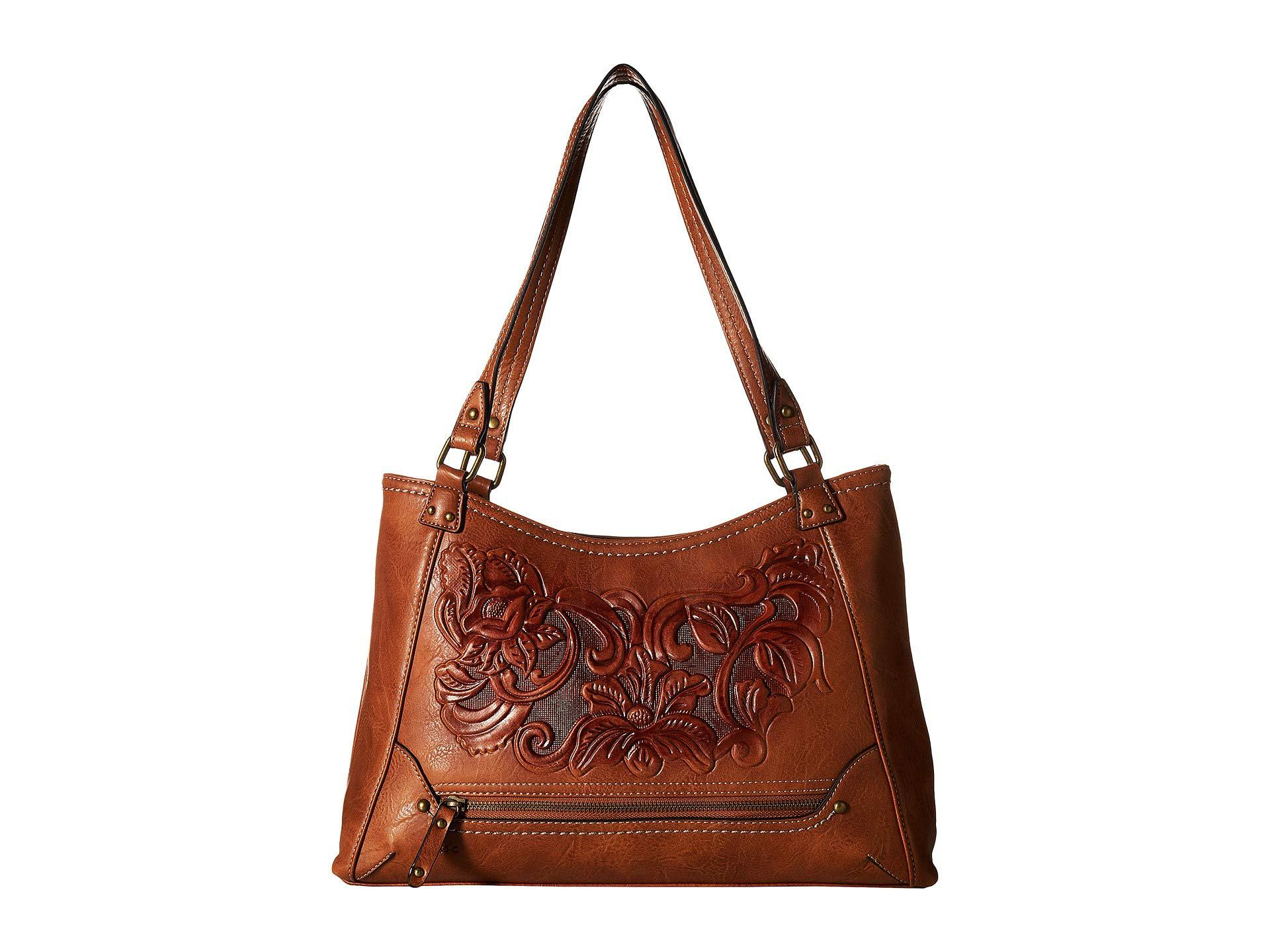 Lyst - b.ø.c. Botanica Flower Amhearst Tote in Brown - Save 11% 8f442480f27f4