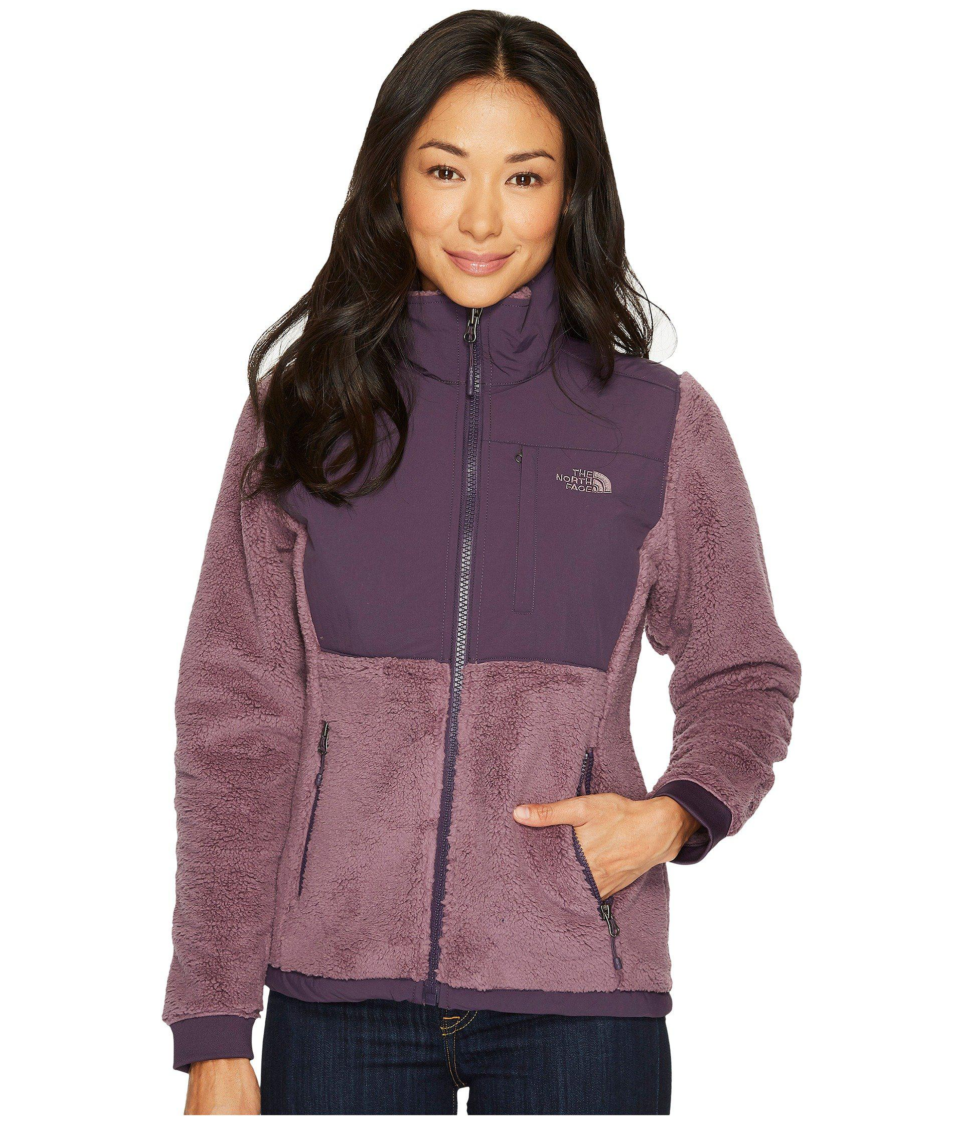 fb739e10a321 Lyst - The North Face Sherpa Denali Jacket in Purple - Save 43%