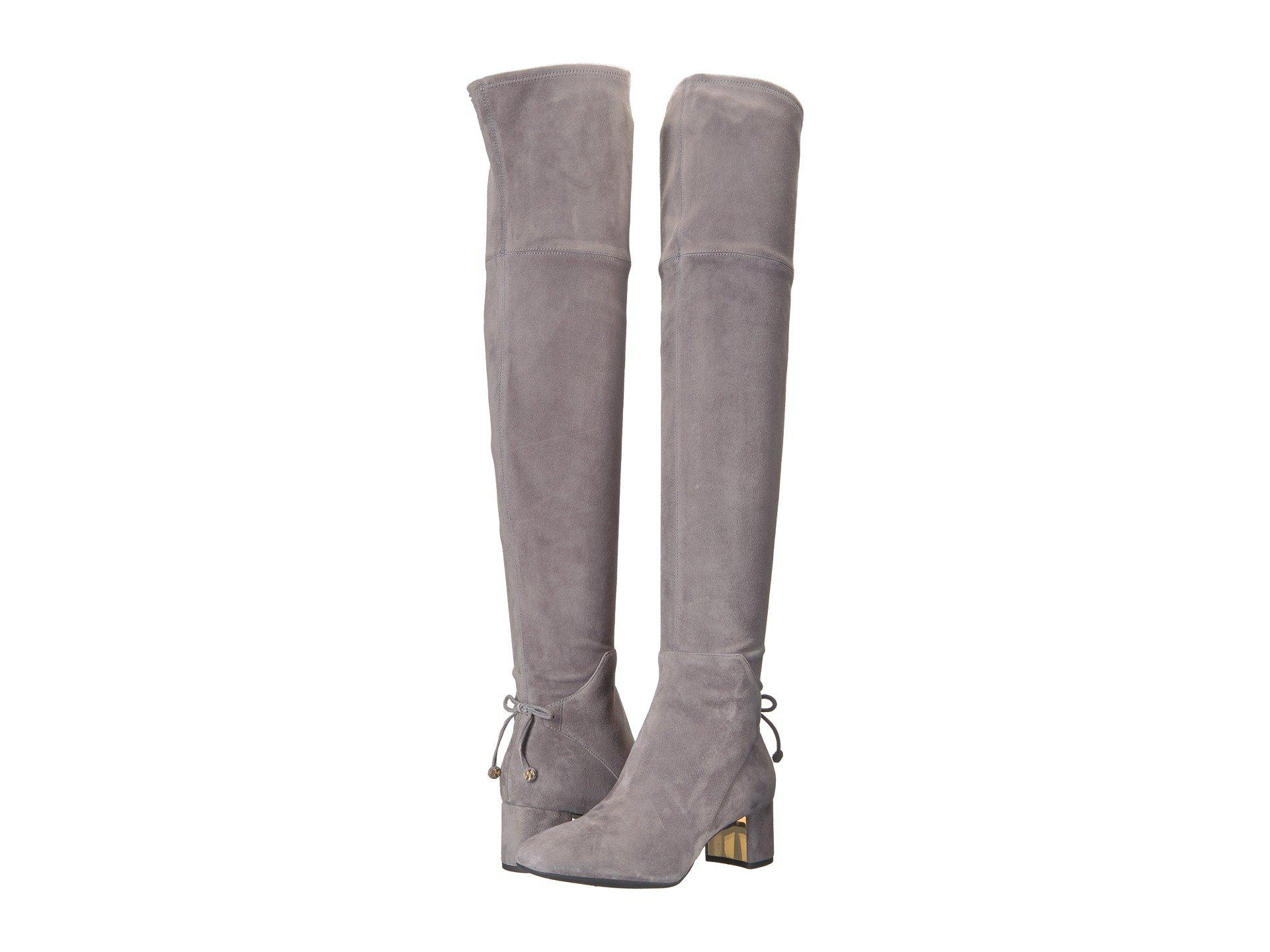 b4cf64c70692 Lyst - Tory Burch Laila 45mm Over The Knee Boot