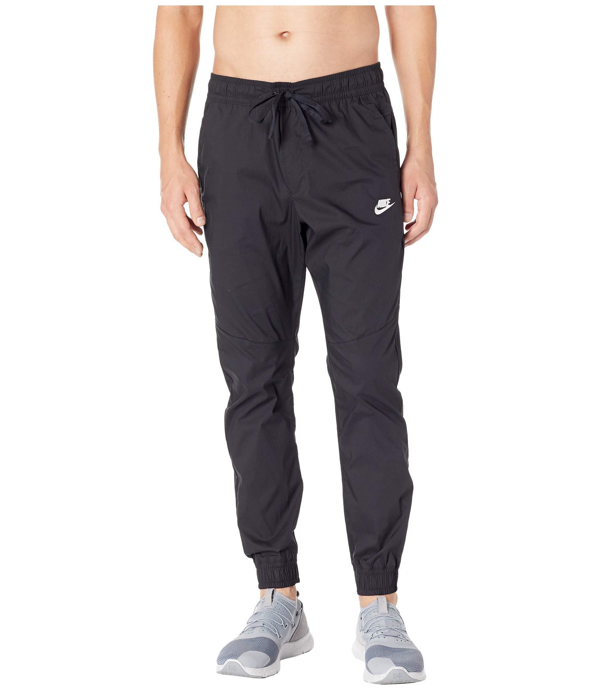 4af7094d2e4b Nike - Black Nsw Jogger Woven Core Street for Men - Lyst. View fullscreen