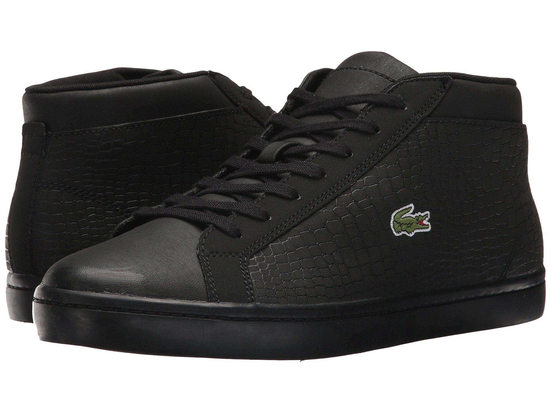 Lacoste In 417 Sp 1 Men For Cam Chukka Black Straightset Lyst Uaxwd0Px