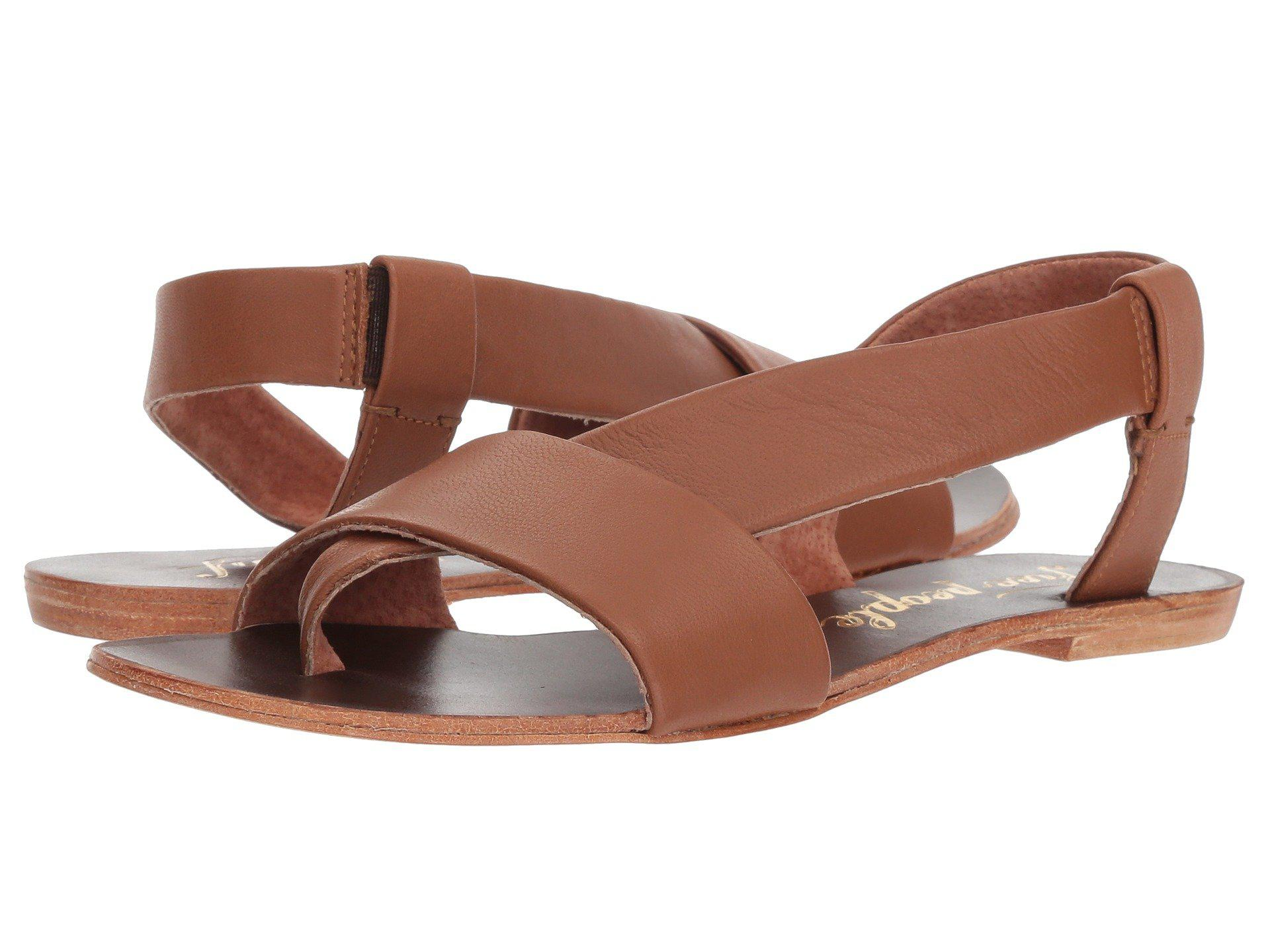25bab6a009e Lyst - Free People Under Wraps Sandal in Brown - Save 19%