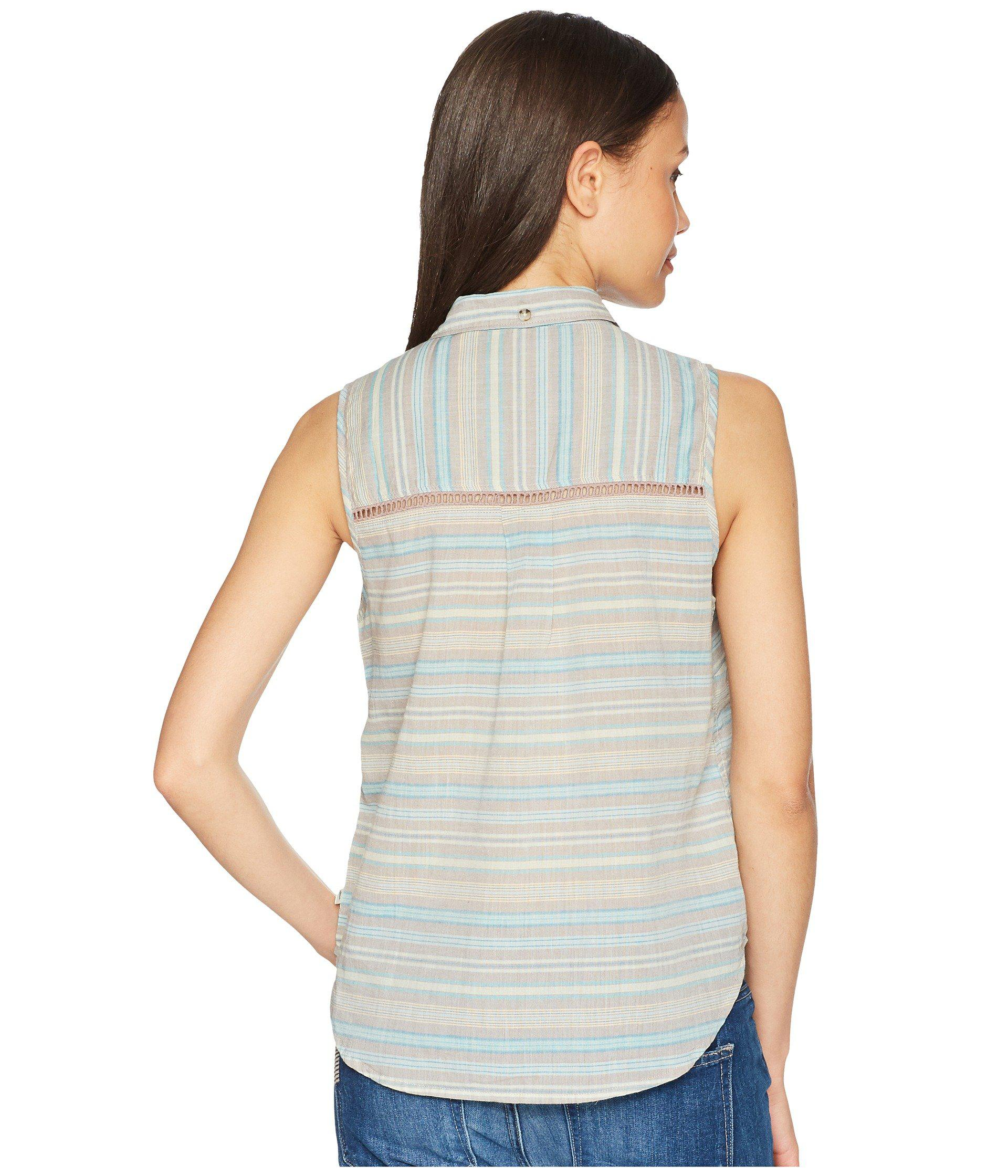 21a39278 Toad&Co - Multicolor Airbrush Sleeveless Deco Shirt - Lyst. View fullscreen