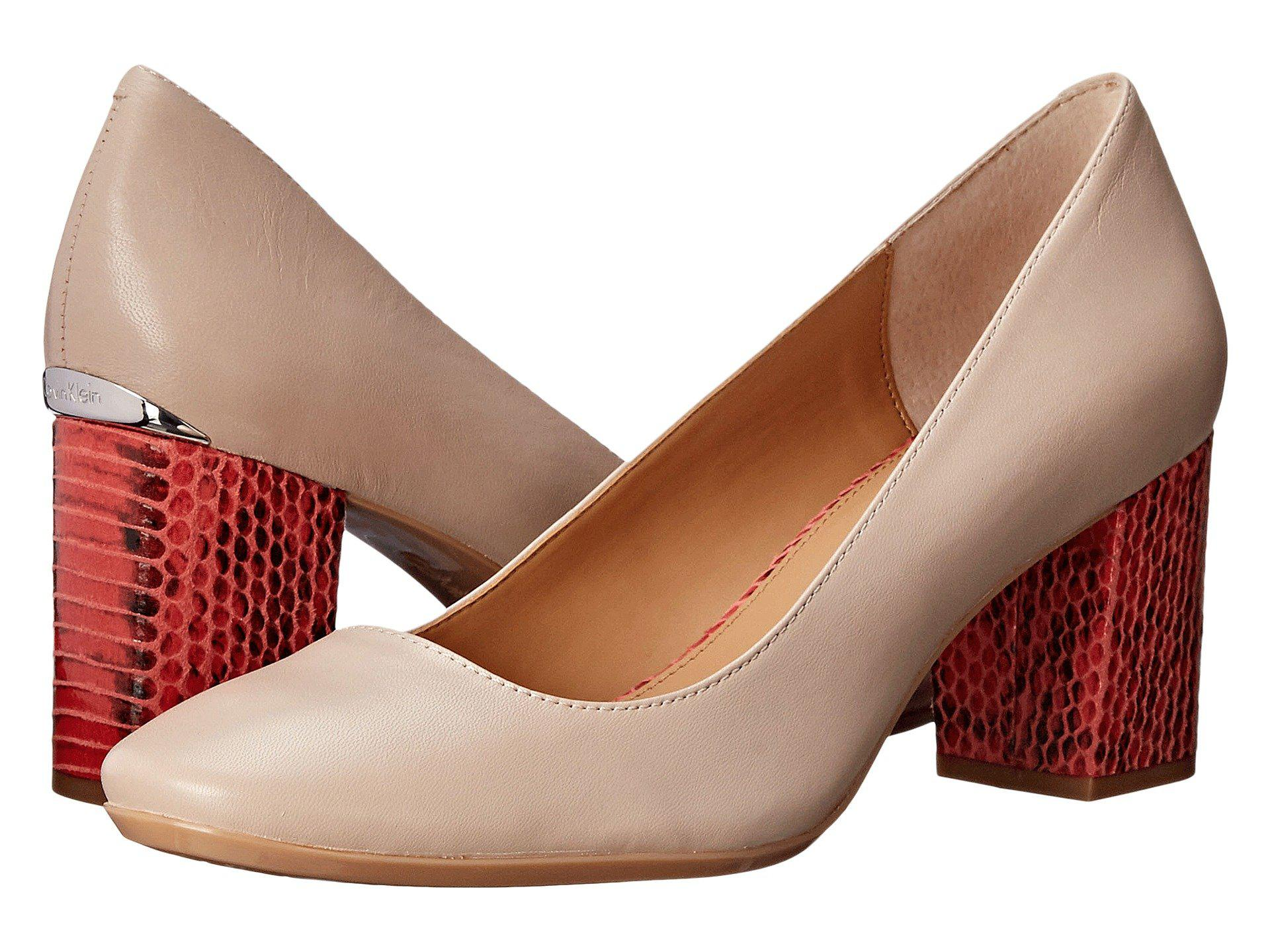 Womens Shoes Calvin Klein Cirilla Cocoon Leather