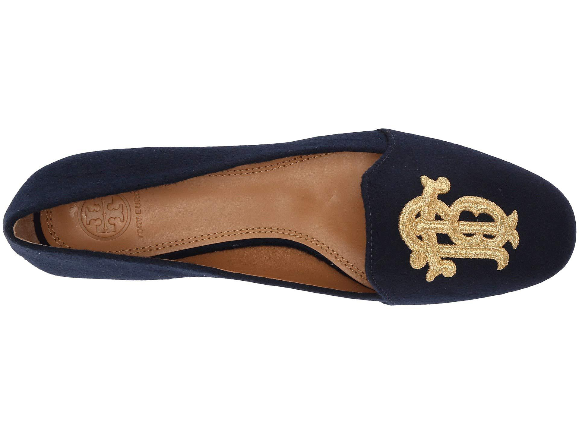 5ca514ee20bd Tory Burch - Blue Antonia Loafer - Lyst. View fullscreen