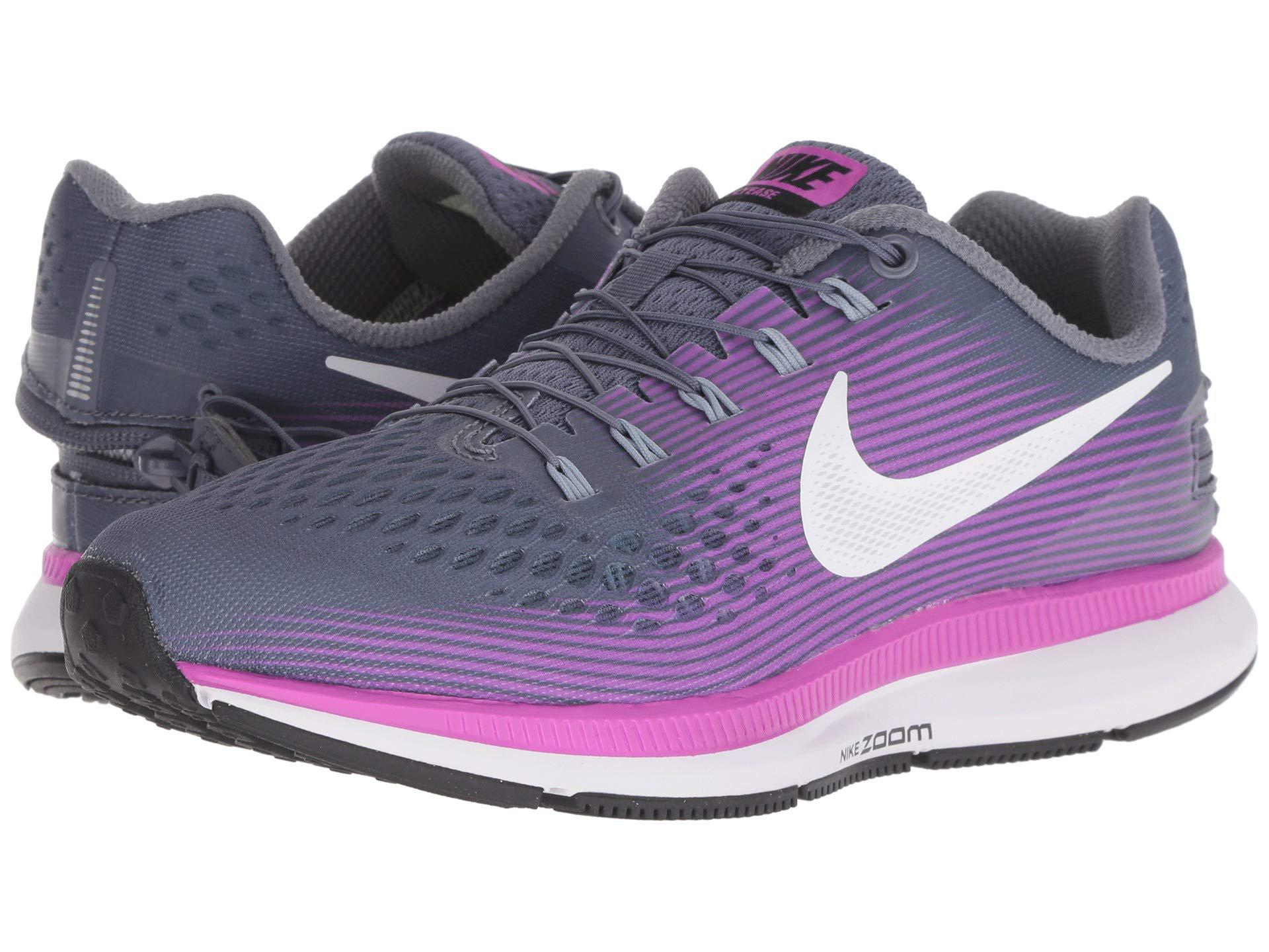 new arrivals c8f0b e77ee Women s Purple Air Zoom Pegasus 34 Flyease Sale Lot of Exclusive Styles Nike  ...
