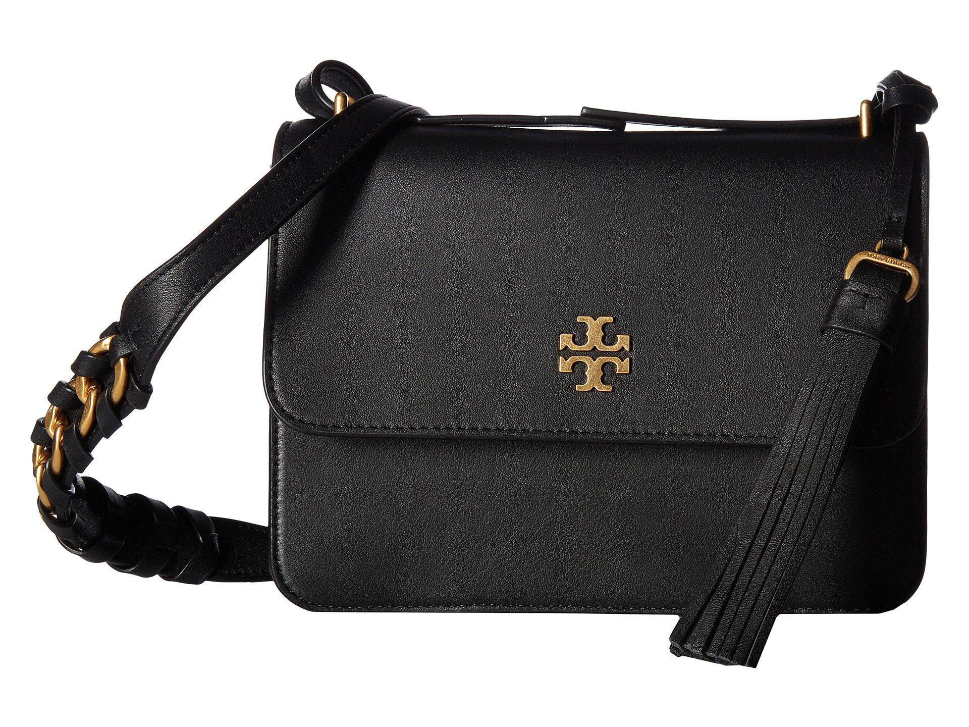 40c77e20c22b Lyst - Tory Burch Brooke Shoulder Bag in Black
