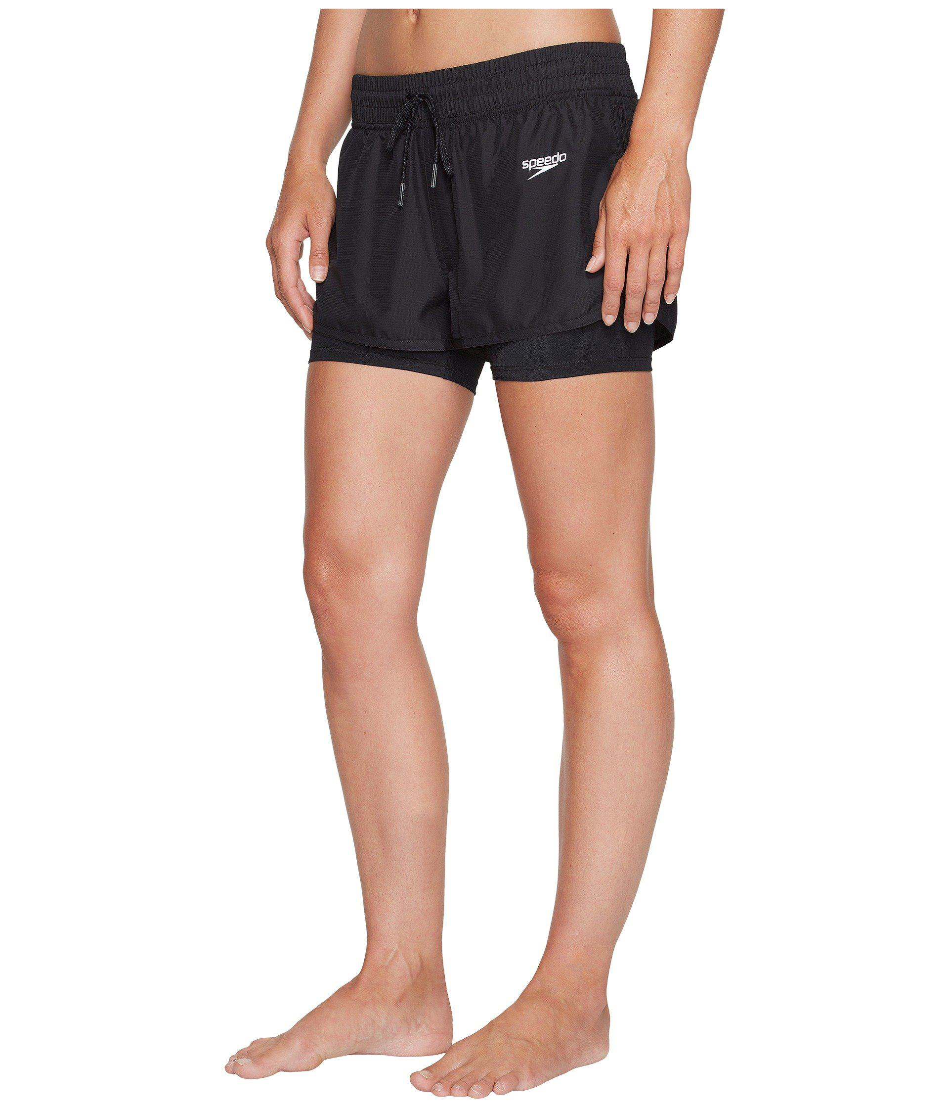 67d2af0953 Lyst - Speedo Hydro Volley Shorts in Black - Save 8%