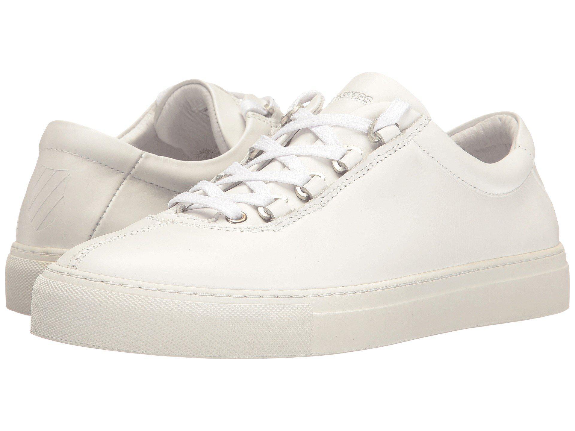 f8999da5352 Lyst - K-Swiss Court Classico in White