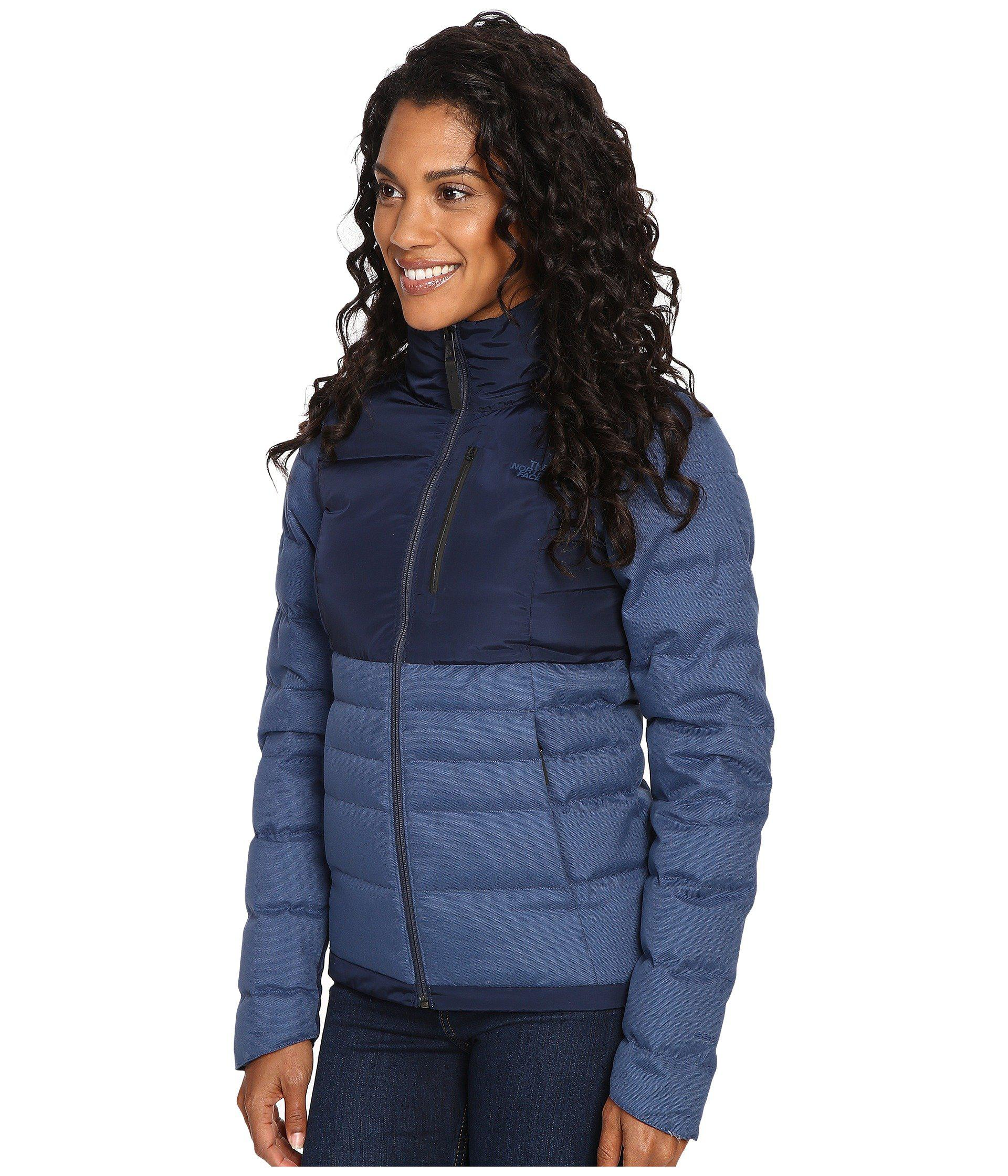 a990ad5ee4a5 The North Face - Blue Denali Down Jacket - Lyst. View fullscreen