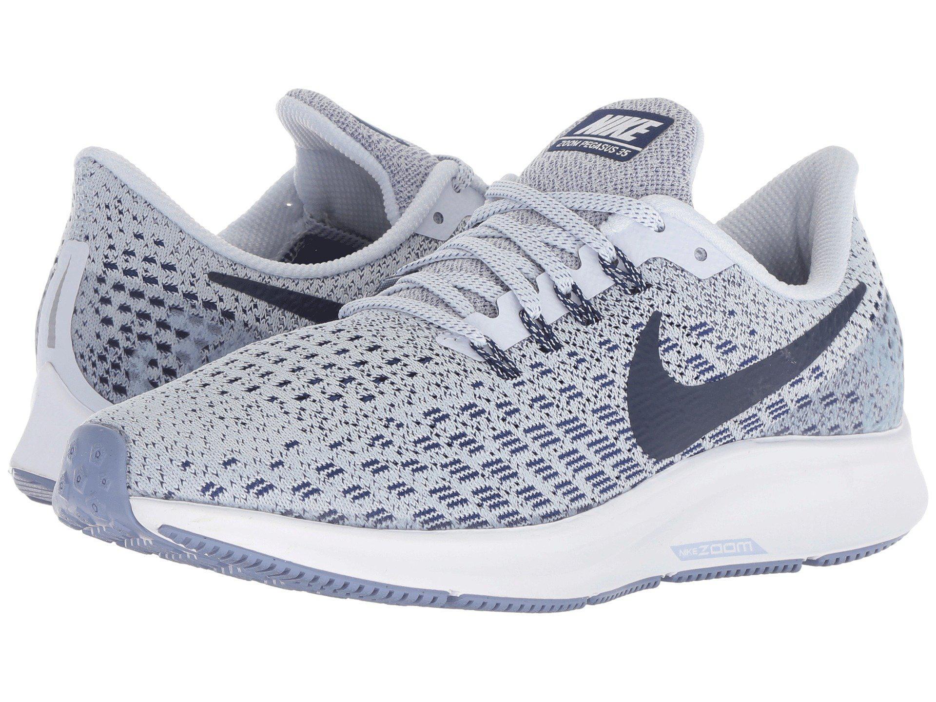 Lyst - Nike Air Zoom Pegasus 35 in Blue 455bf7a71