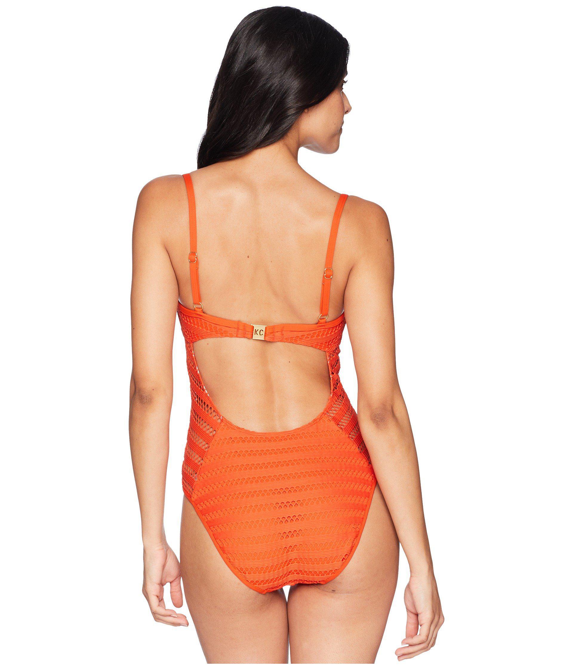 bf4b674245 Kenneth Cole - Orange Tough Luxe Mio - Lyst. View fullscreen