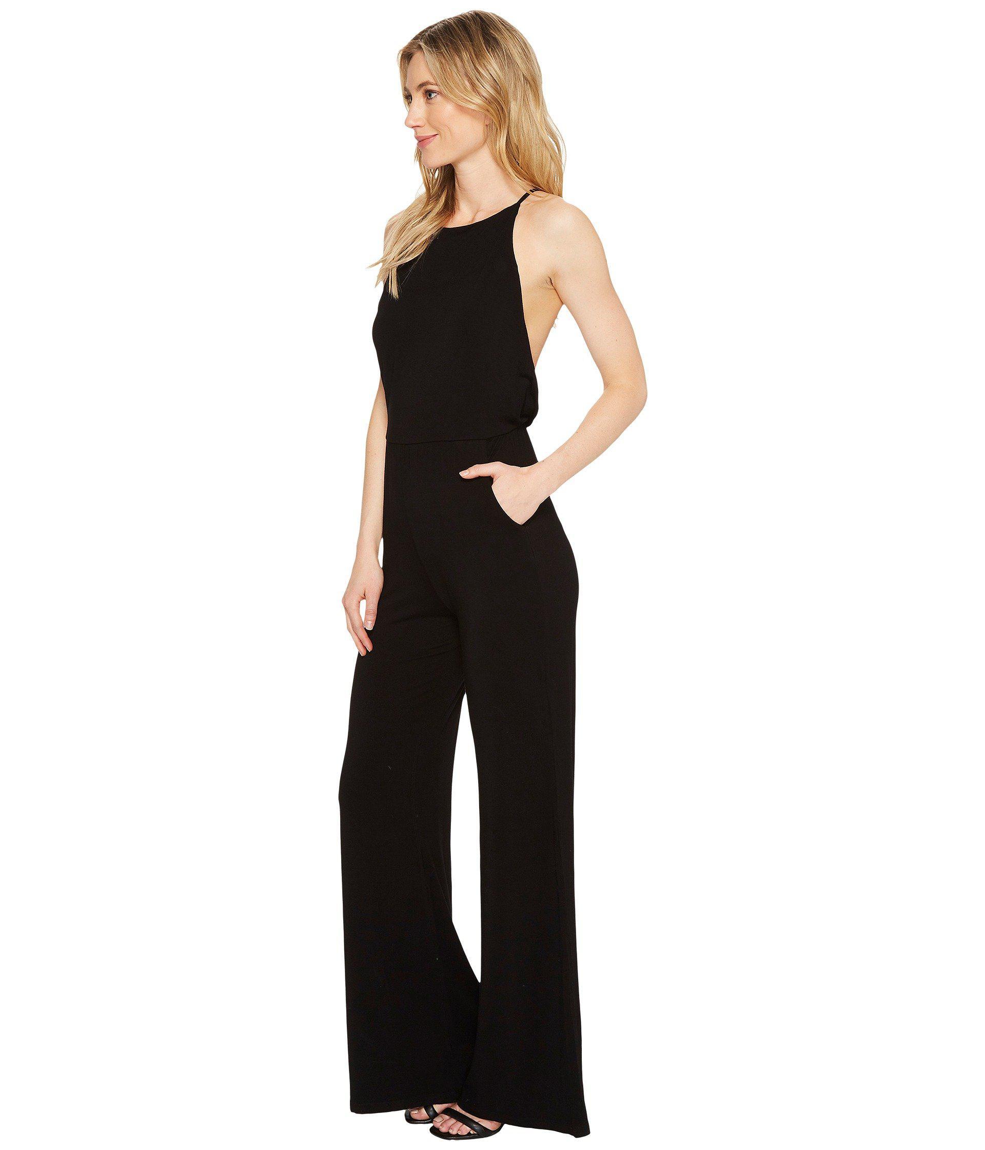 Lyst Young Fabulous Broke Megan Jumpsuit In Black