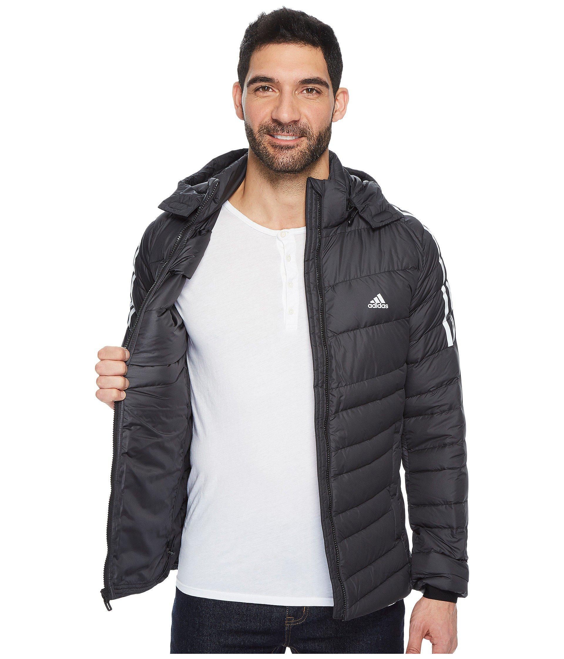 Lyst adidas Originals ClimaWarm ® itavic 3 Stripe Jacket in Black