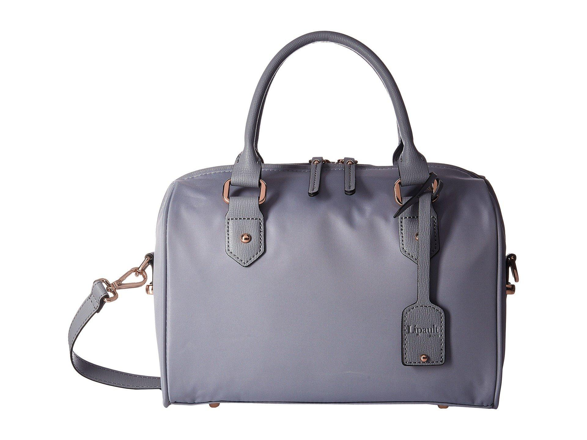 c38eed9a5 Lipault Plume Avenue Bowling Small Bag in Gray - Lyst