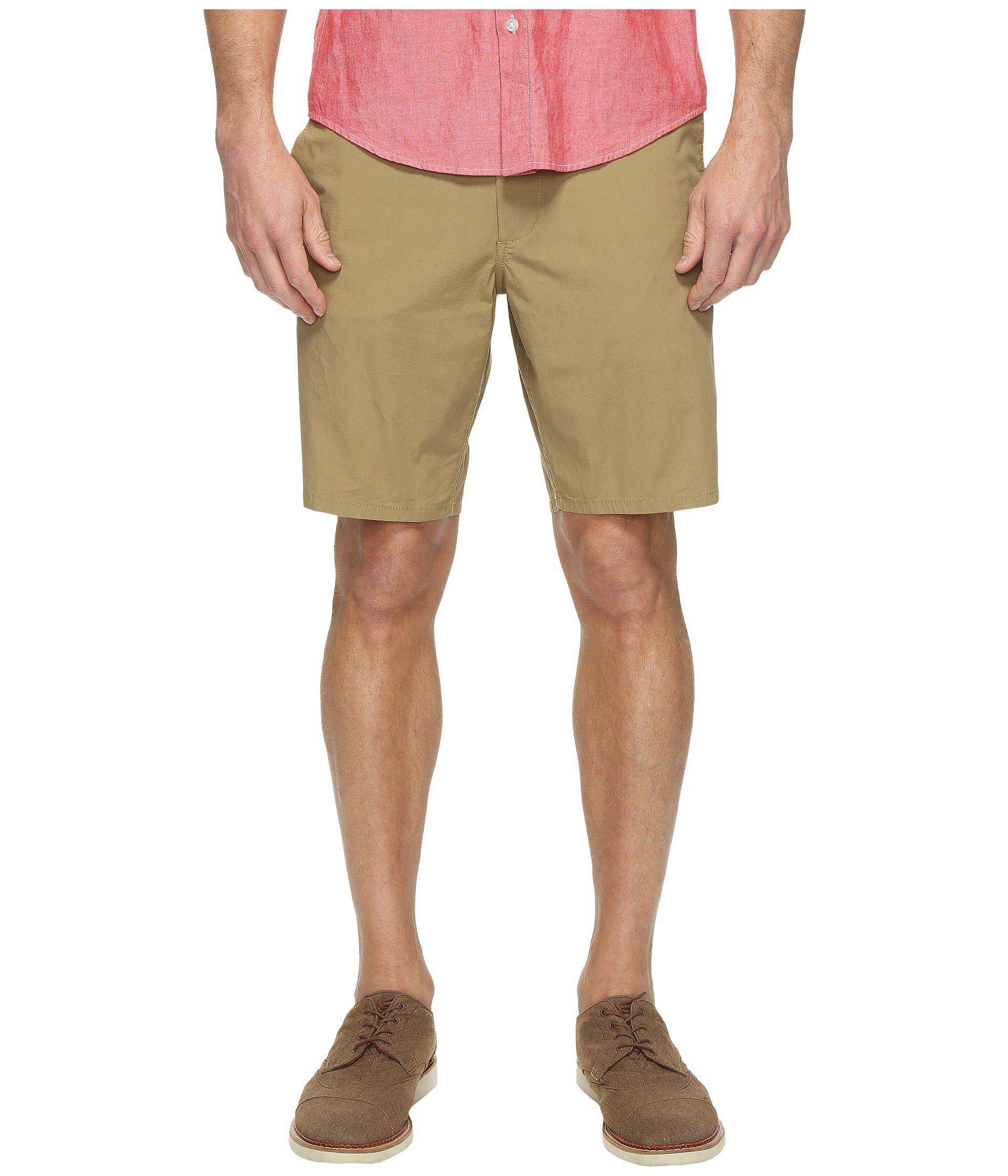 e75af04eeb Lyst - Dockers Core Flat Front Straight Shorts in Natural for Men ...