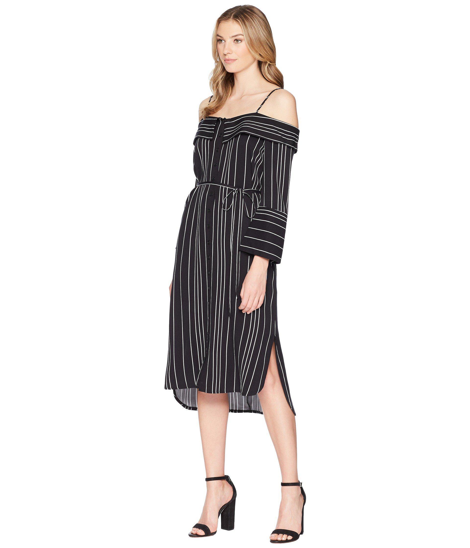 91da9dd84d66 Lyst - Bardot Effie Shirtdress in Black - Save 32%