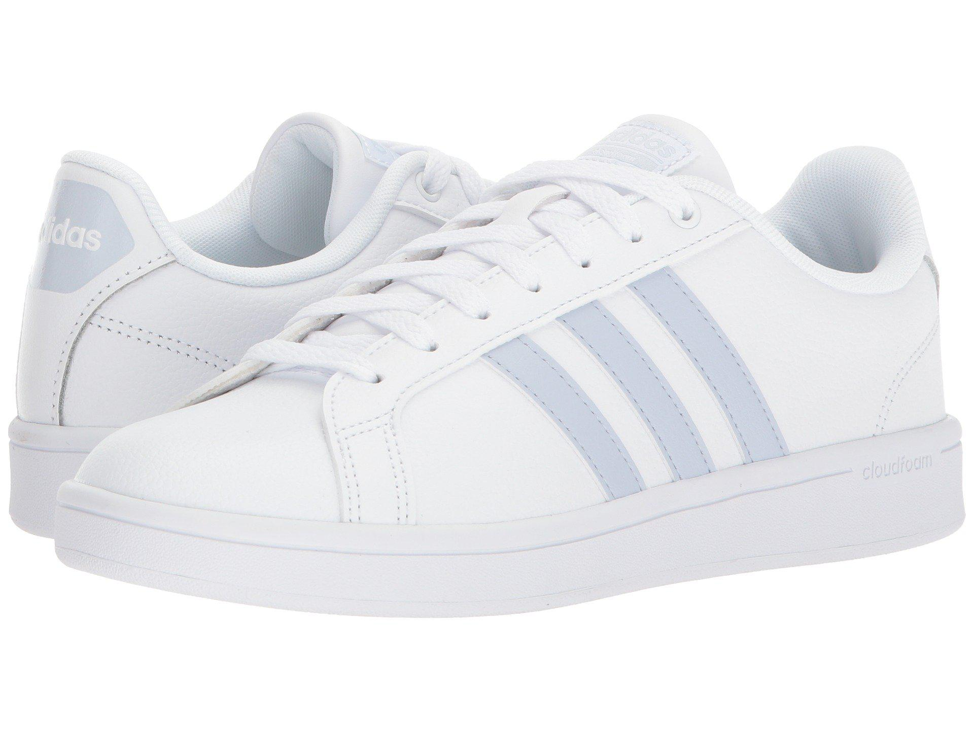 lyst adidas cloudfoam vorteil für männer in weißen streifen