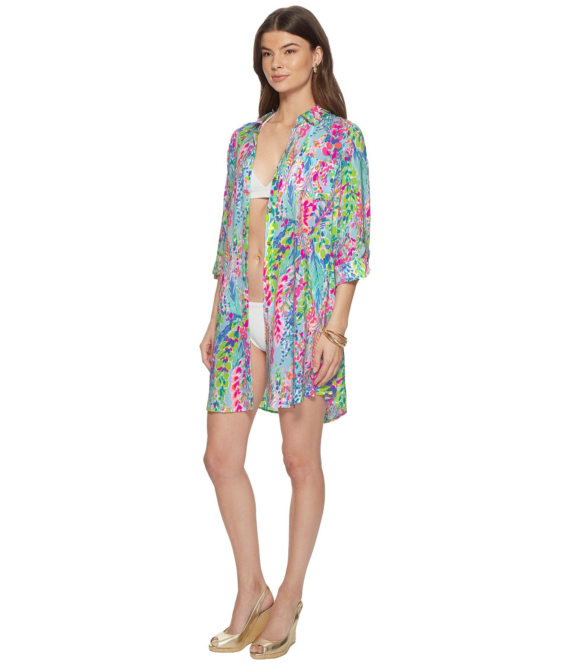70a35b95ee49b Lilly Pulitzer Natalie Cover-up - Lyst