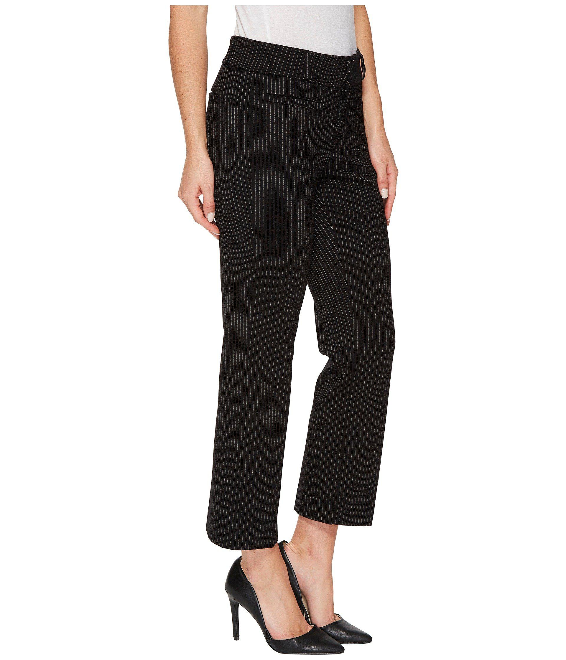 a31ee4905afbc Liverpool Jeans Company Vera Crop Flare Trousers With Welt Pockets ...