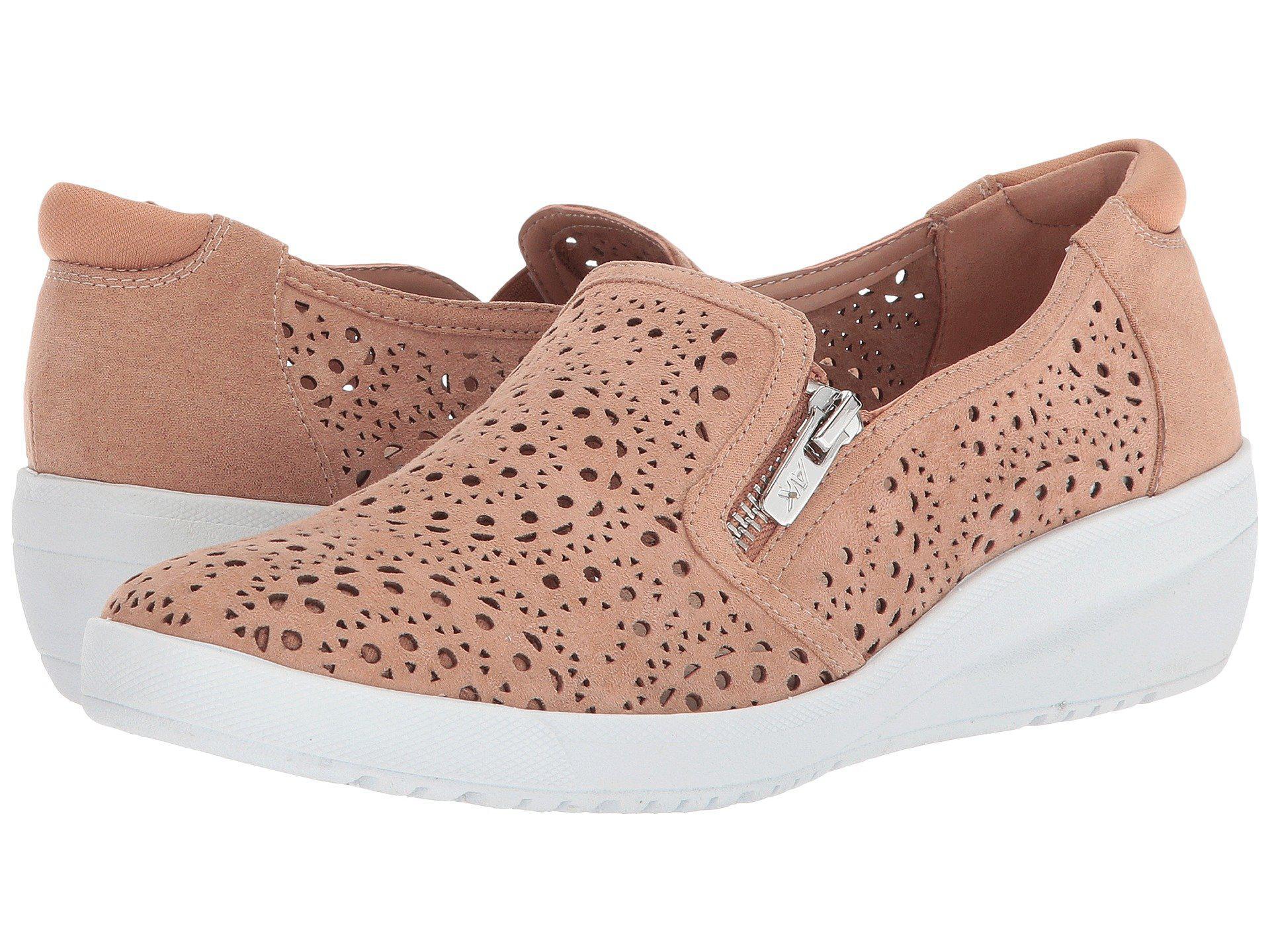 Anne Klein Sport Yvette Perforated Slip-On Sneakers cXTFEIJ