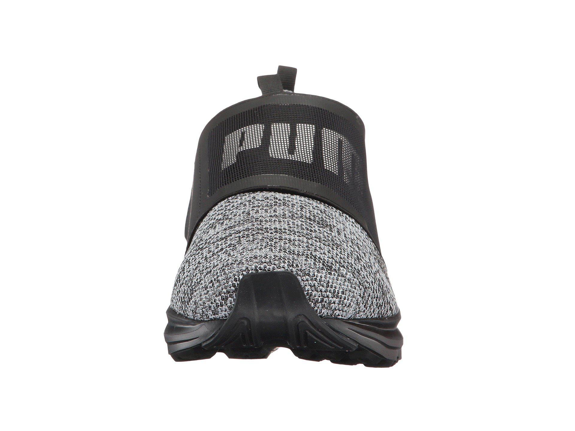 dcdd215fe7655f Lyst - PUMA Enzo Strap Knit in Black