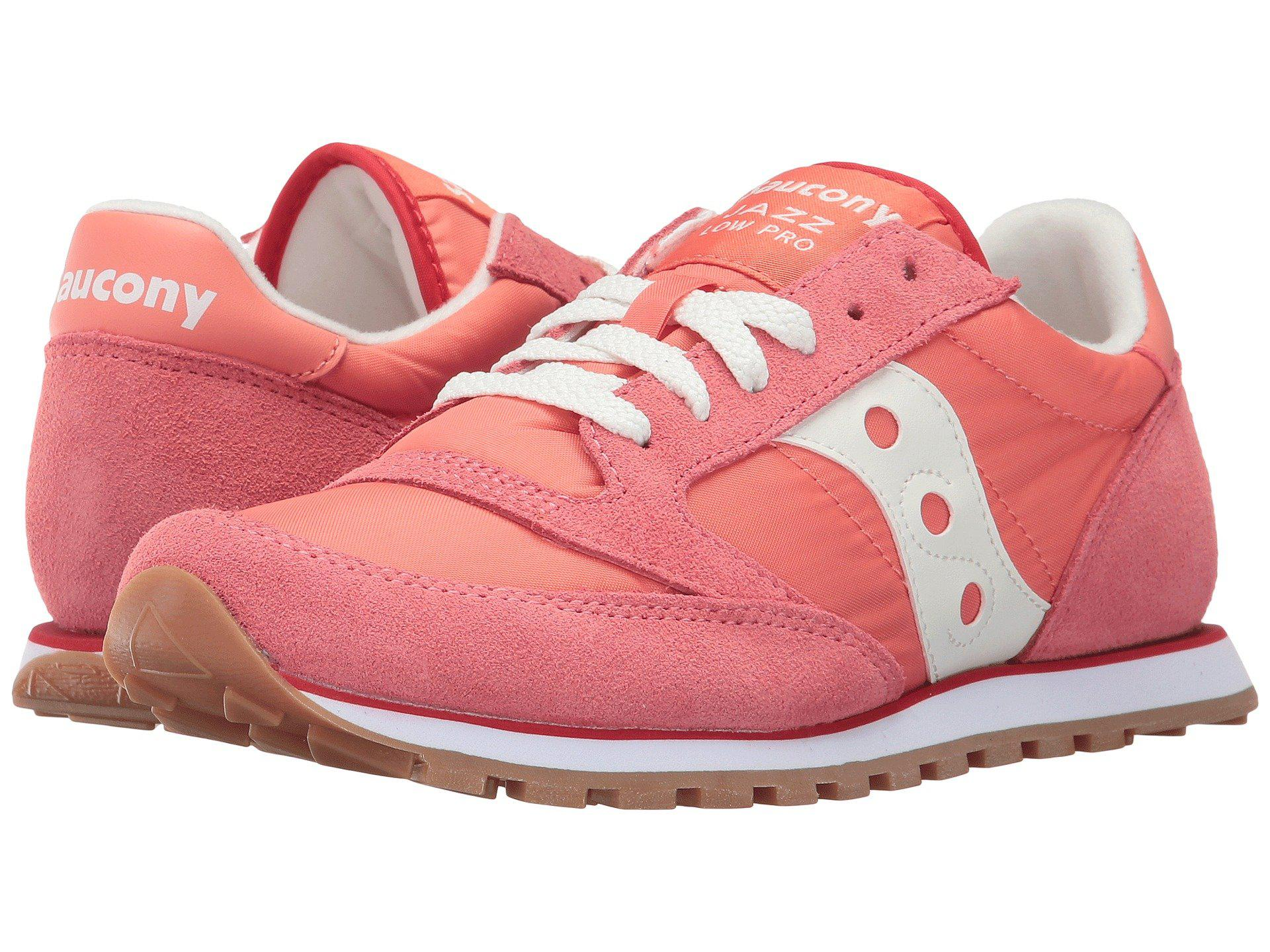 7dcfb31826ce Lyst - Saucony Jazz Low Pro in Pink