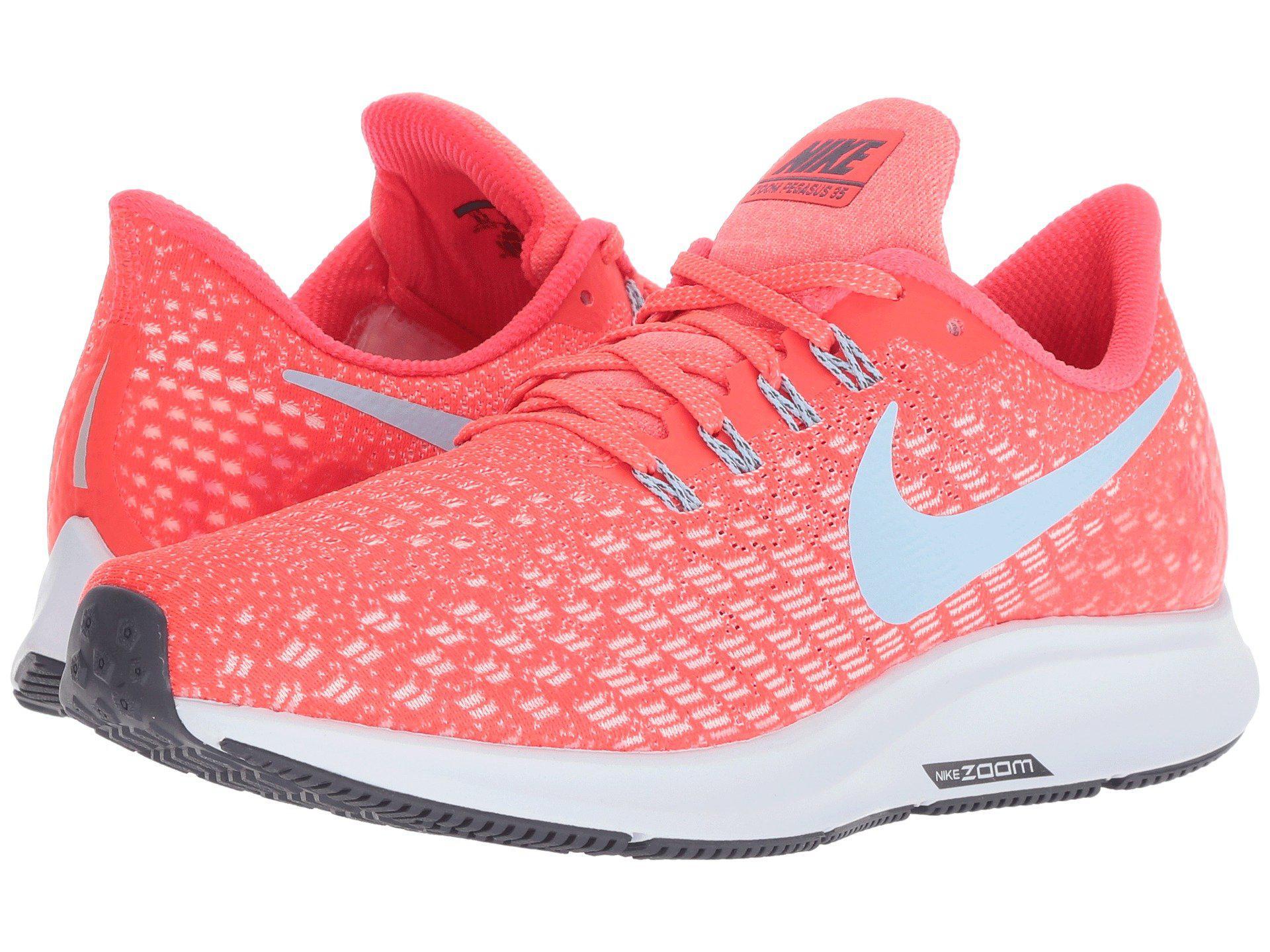 d72cac427254 Lyst - Nike Air Zoom Pegasus 35 in Red - Save 7%