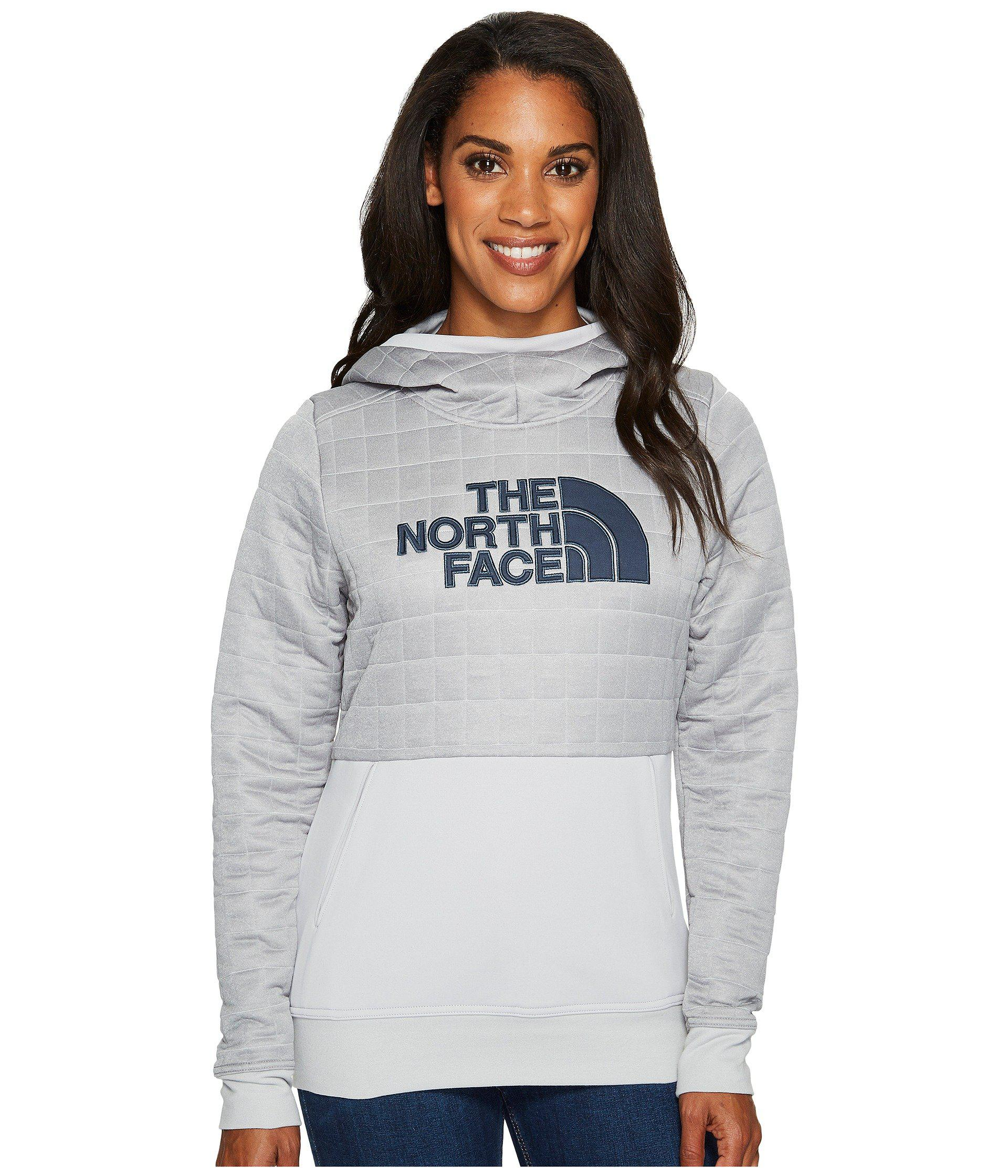e853dee9255fb ... inexpensive the north face. womens gray half dome quilted pullover  hoodie db24f 063e2